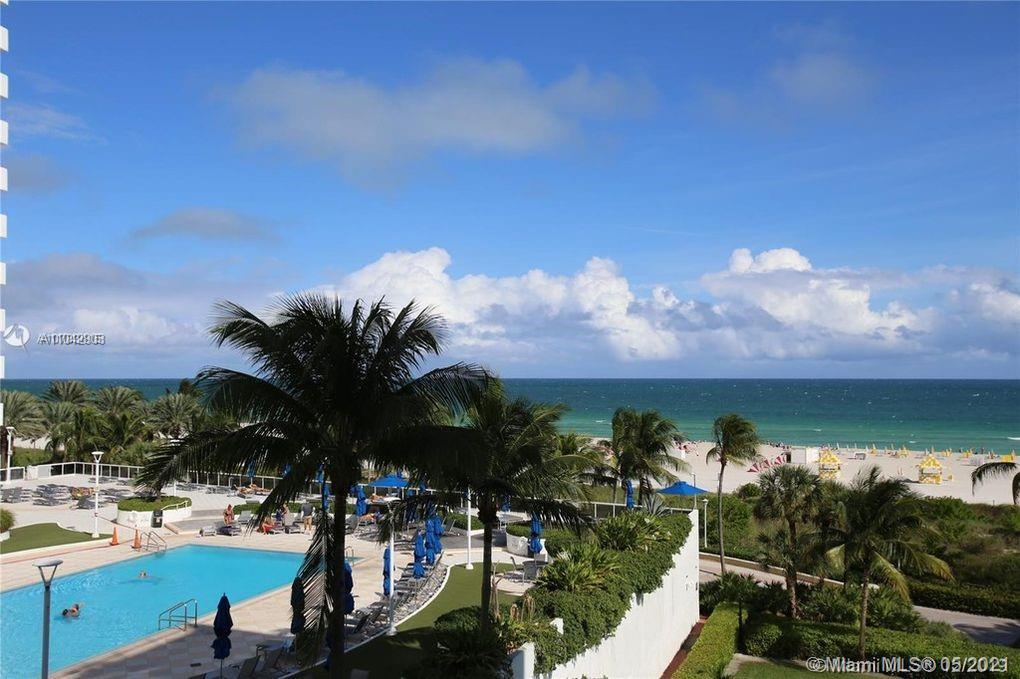Located in the heart of South Beach and steps from Lincoln Rd, this ocean-front condo has a huge wra
