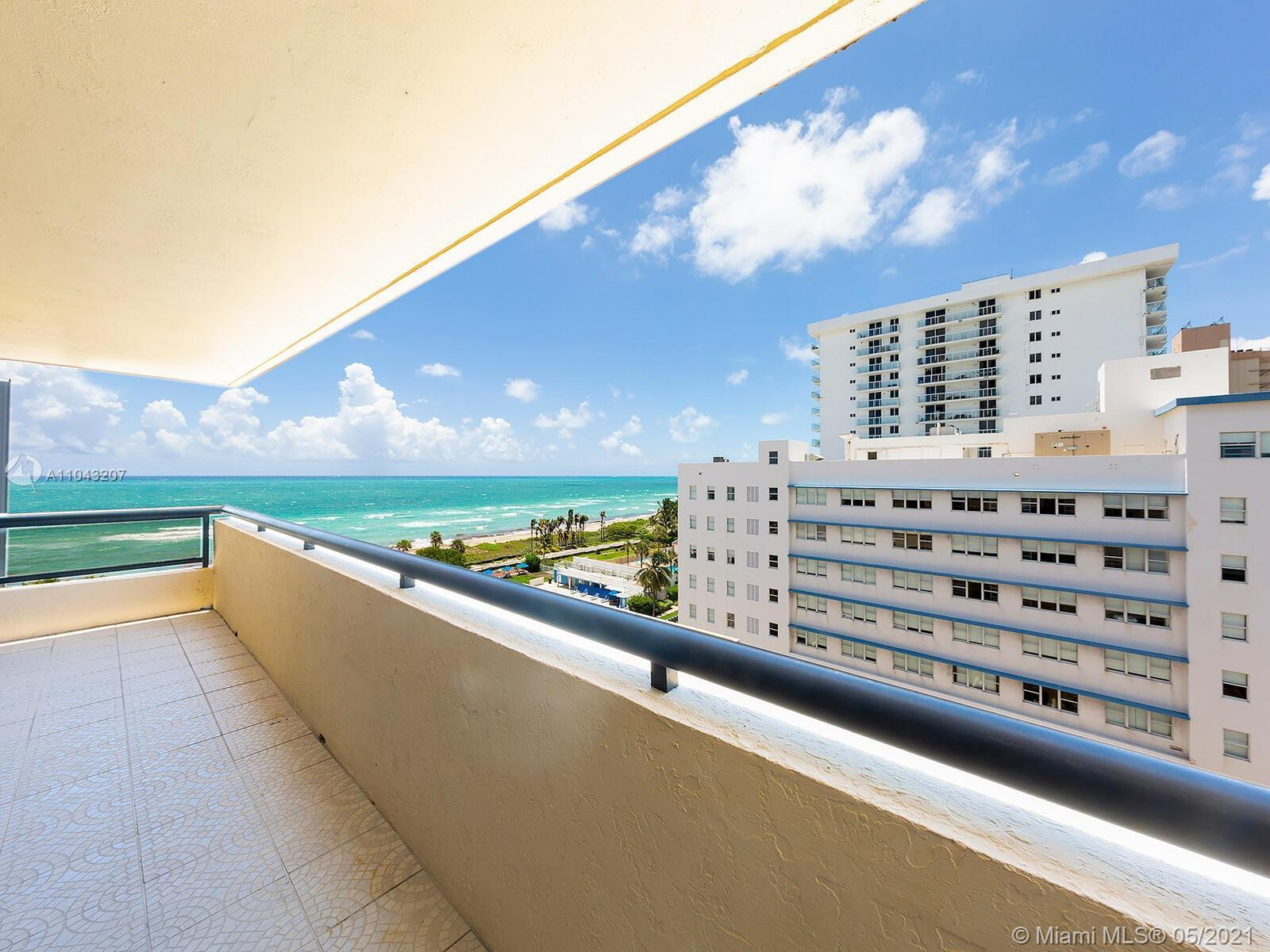 Direct ocean and Intracoastal views.