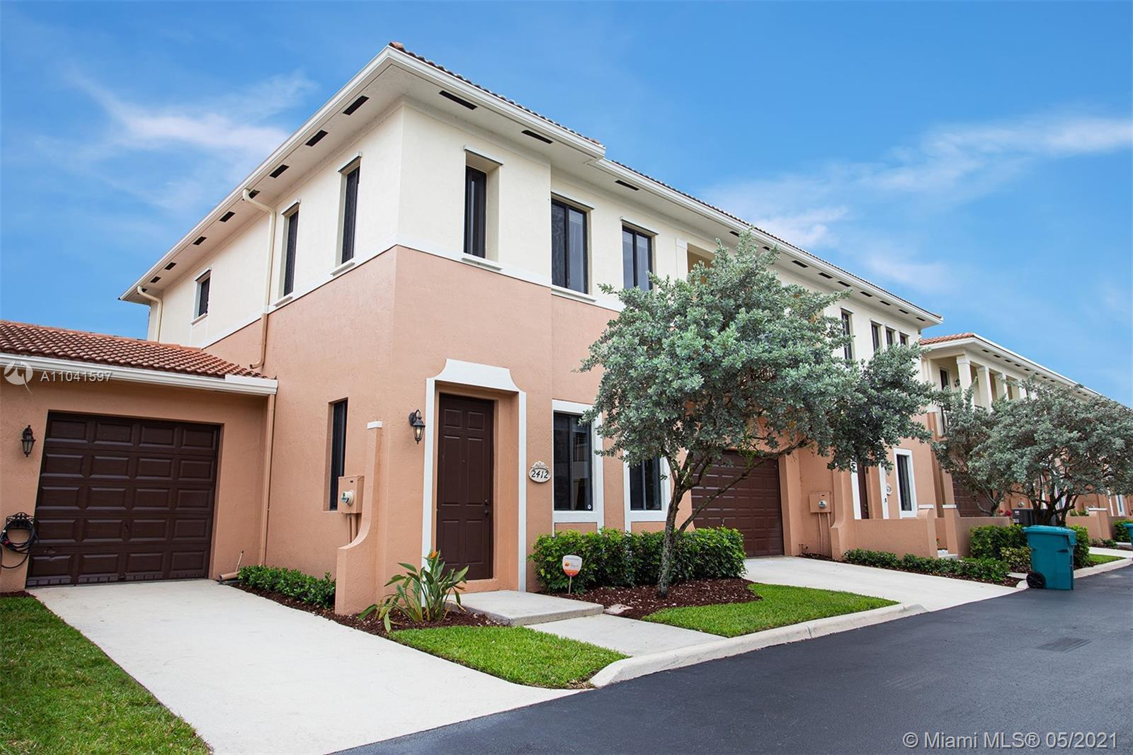 The split two bedroom floorplan with one room downstairs and the master upstairs is ideal for privac