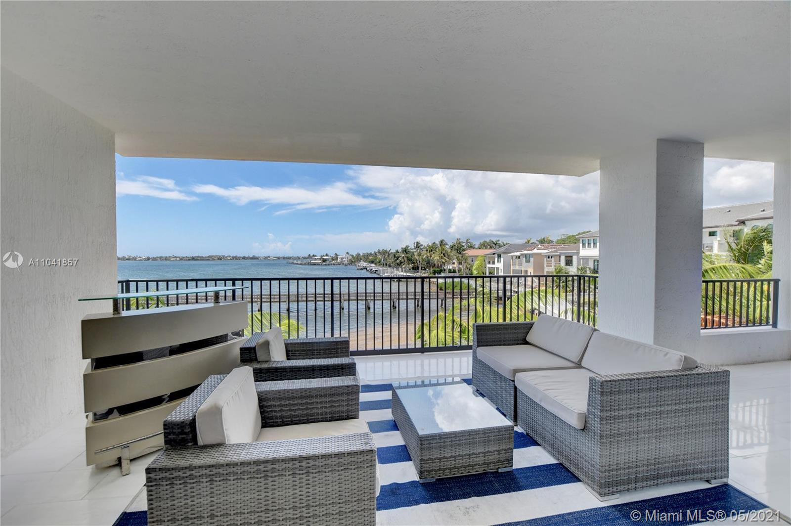 Intracoastal Views for miles in this rarely available SE exposure condo in Boynton Beach gated commu