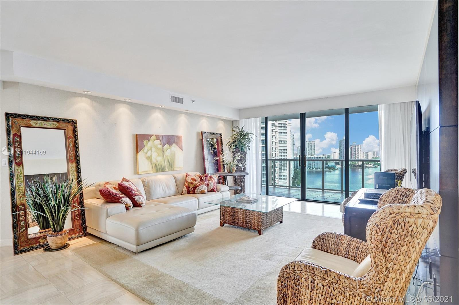 SOUGHT AFTER CONDO WITH GORGEOUS INTRACOASTAL & CITY VIEWS. TRUE 3 BEDROOM, 3 BATHROOM UNIT. WATCH B