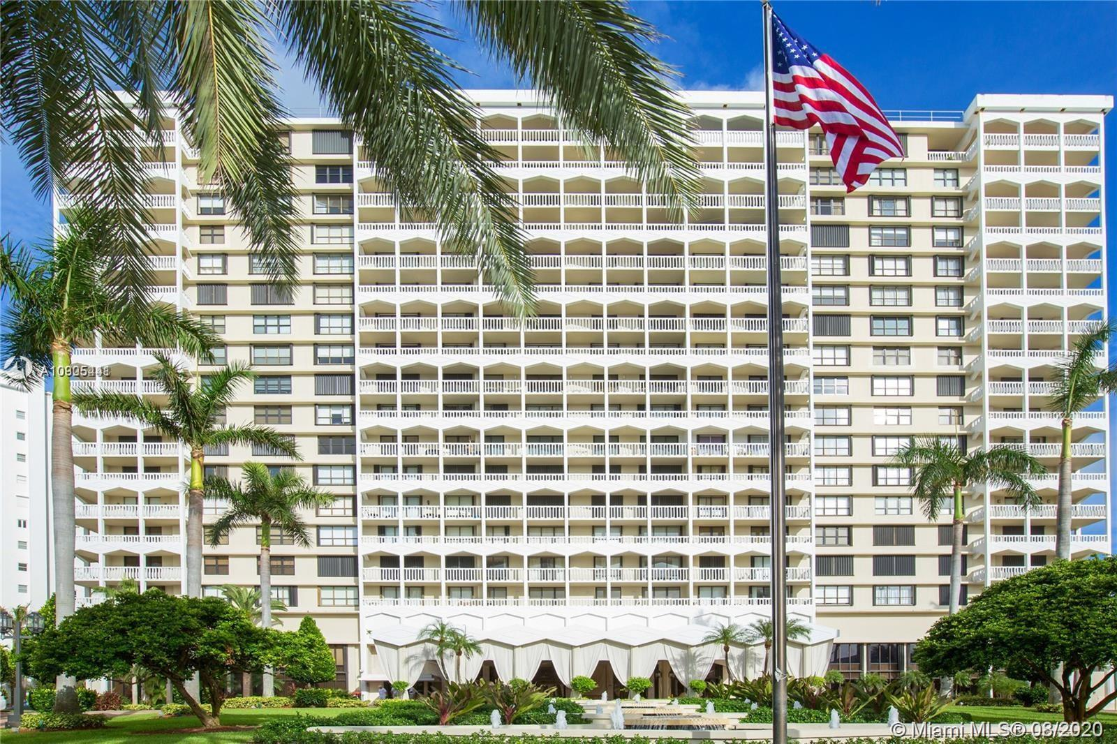 Prestigious condo Balmoral in exclusive Bal Harbour across world renowned Bal Harbour Shops and Hard
