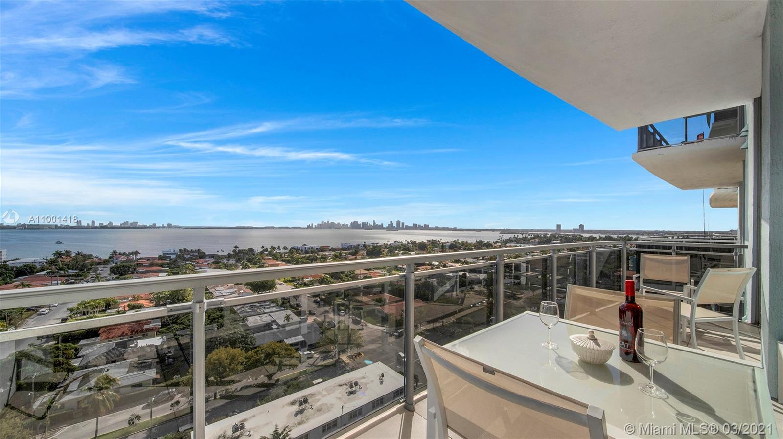 Panoramic South Bay and Downtown's skyline views, from this extra-large turnkey    2 BR + DEN/2 BA.