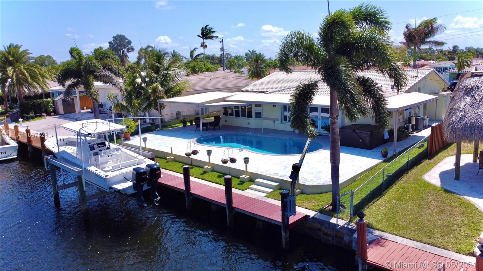 South Florida's Prime Ocean access 15 min,Deep Water Canal dream home, won't last long. With an 2,00