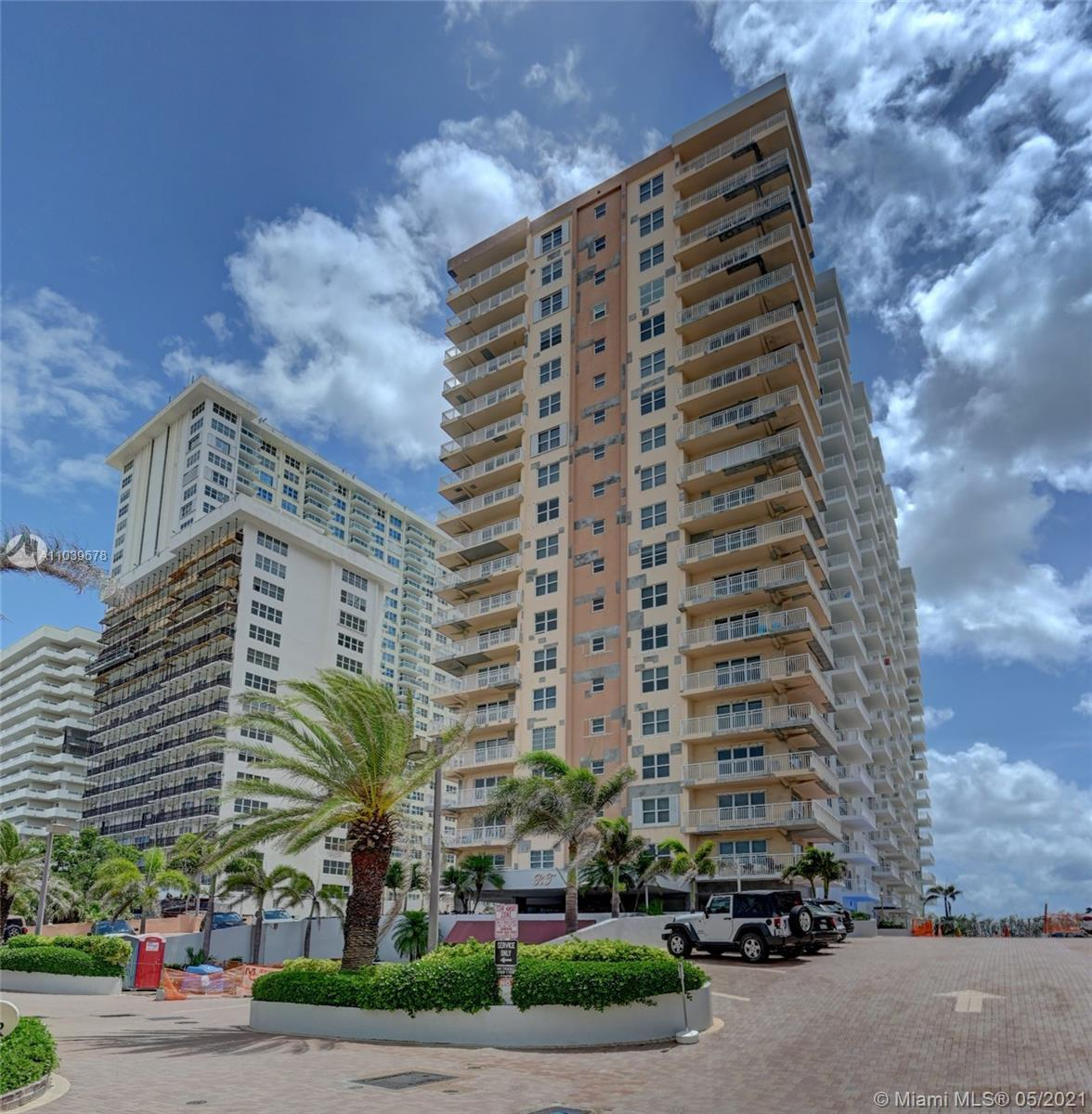 Spacious 2 bedroom 2 bath (14th floor) unit in the Regency Tower!  Relax on your balcony and enjoy t