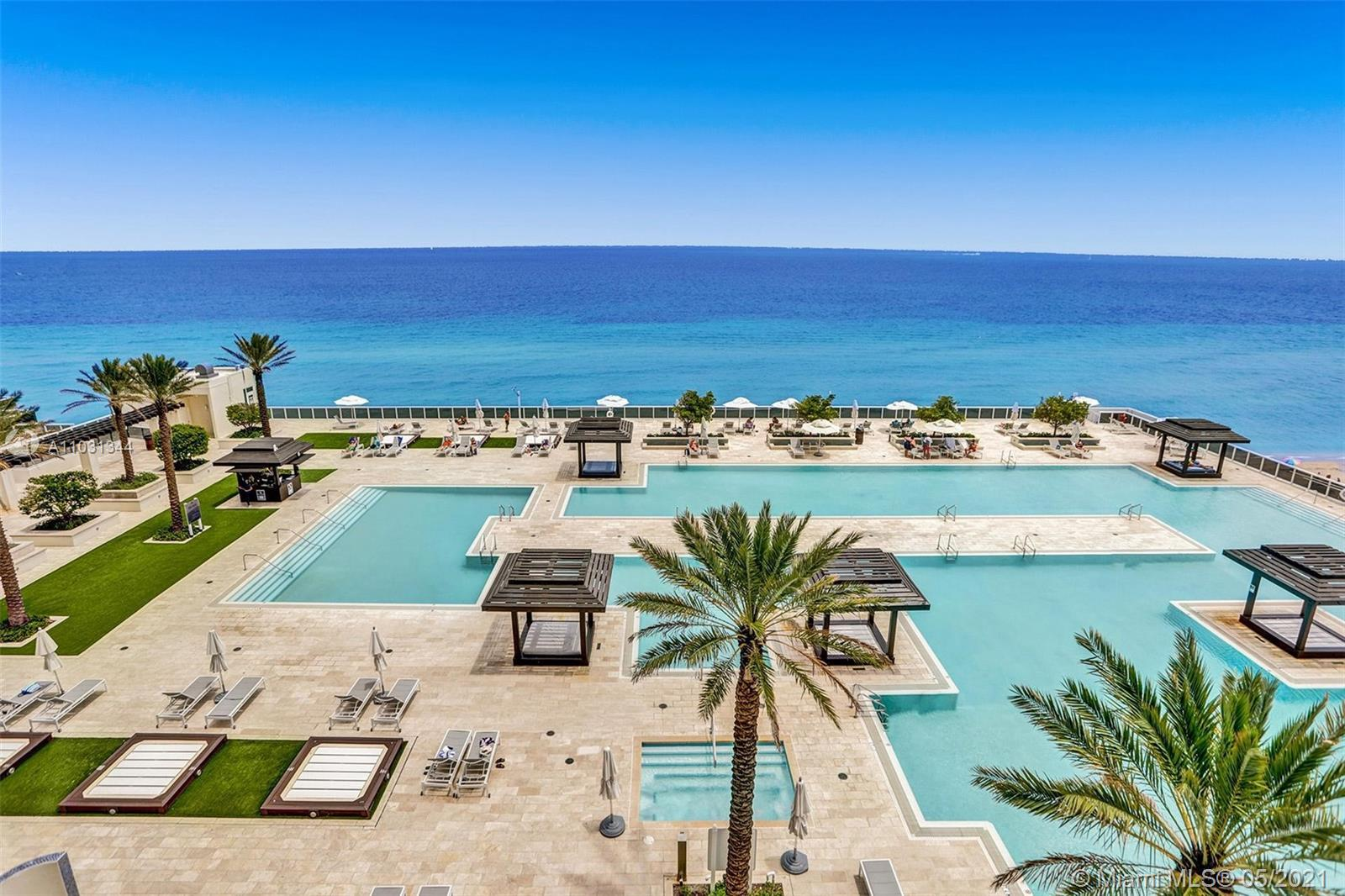 BREATHTAKING DIRECT OCEAN VIEWS FROM EVERY ROOM OF THIS DESIRABLE 3 BED/3.5 BATHS, 2,078 SQ.FT. CORN