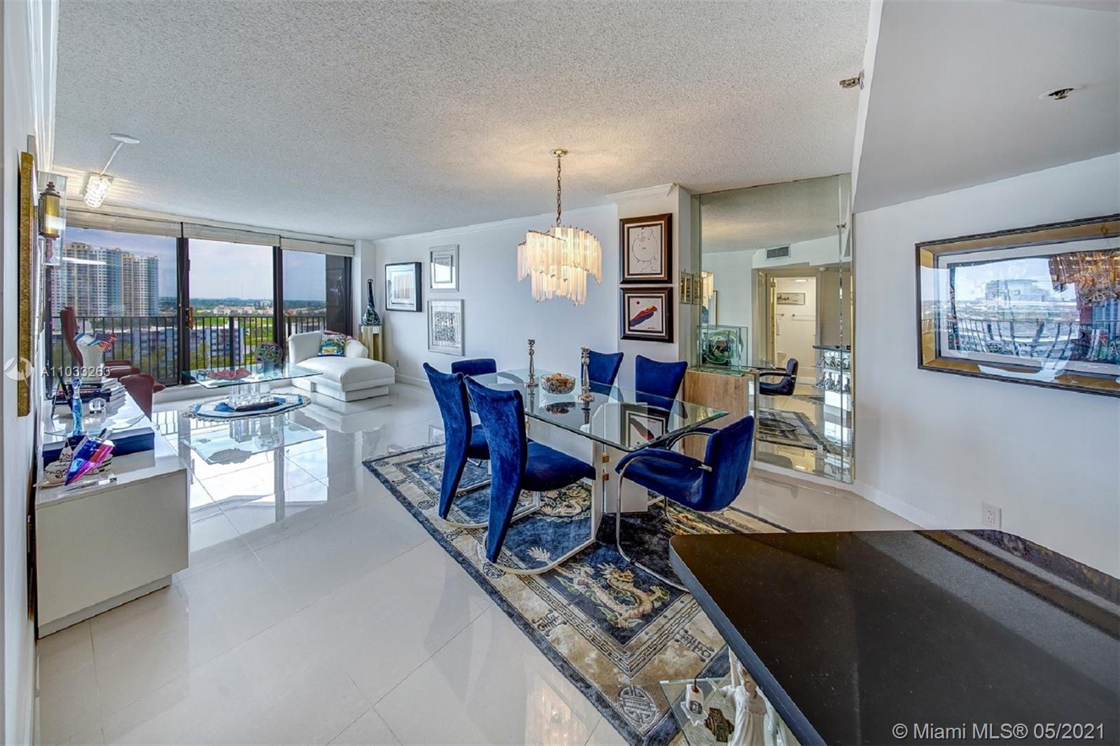 Bright & airy, beautifully remodeled 2 BD/2 BA unit located on the 14th floor w/ amazing water & cit