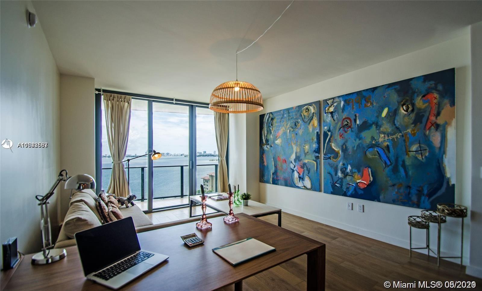Beautifully finished and fully furnished 1 Bedroom / 1 Bathroom unit at Icon Bay in East Edgewater w