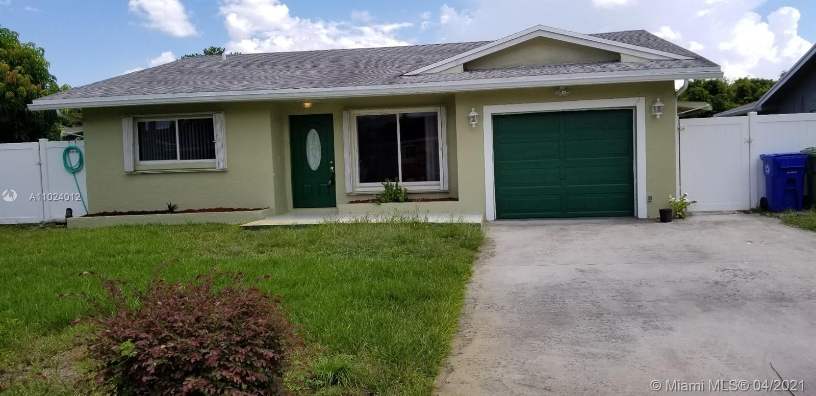 Nice 3 bedroom 2 bath home with garage. Lots of living space. New floors. Cul de sac. House has 2