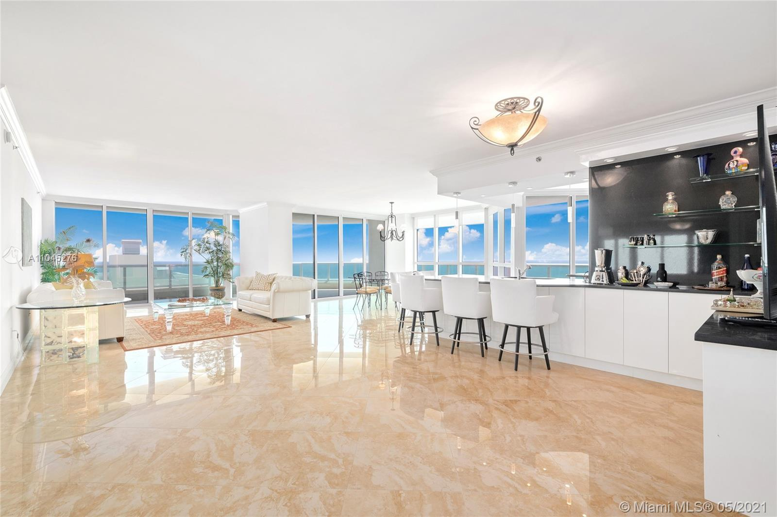 Located in one of the most luxurious oceanfront buildings in Fort Lauderdale, this 2,950 sqft condo