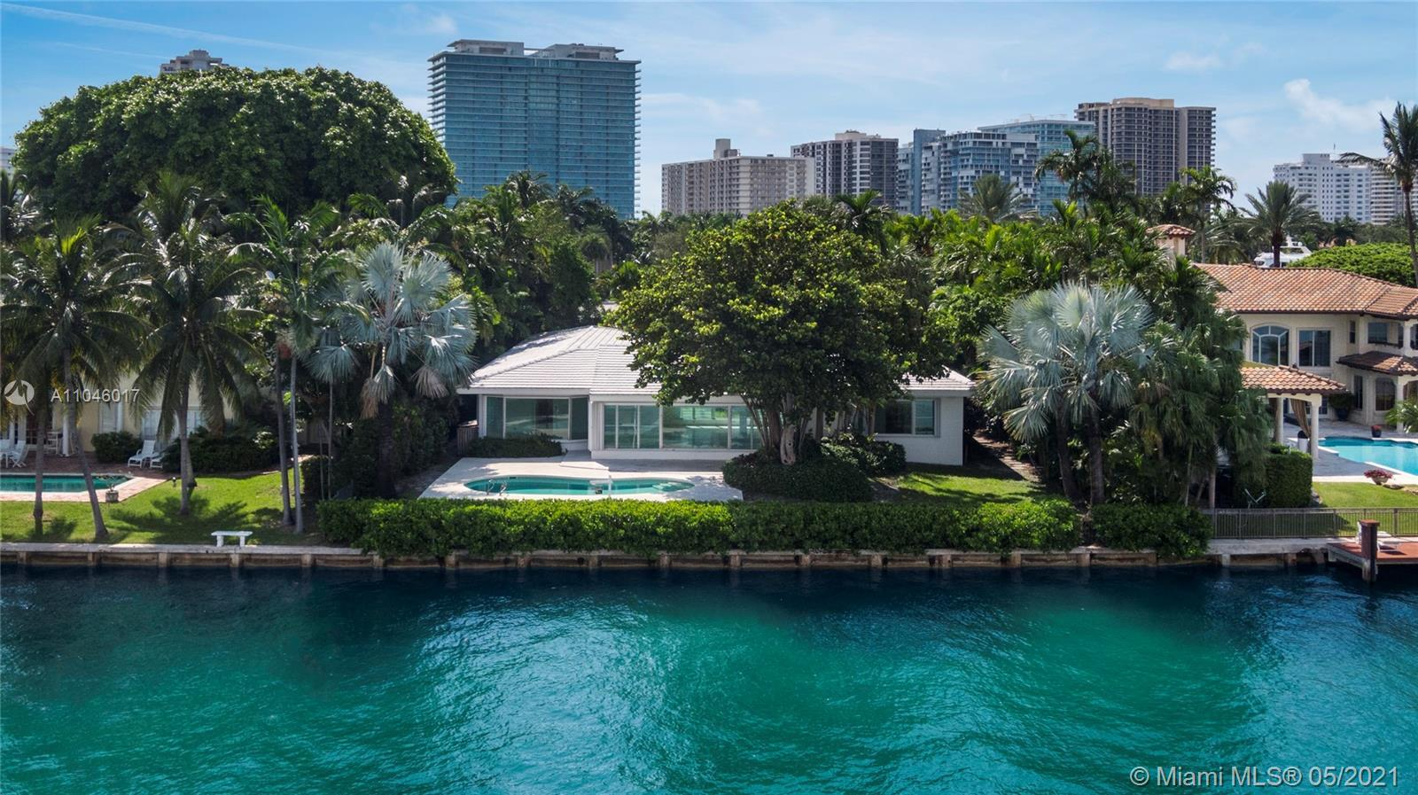 EXPERIENCE THE LUXURY, PRIVACY, AND SECURITY OF LIVING IN BAL HARBOUR ON A TROPHY RESIDENTIAL SITE