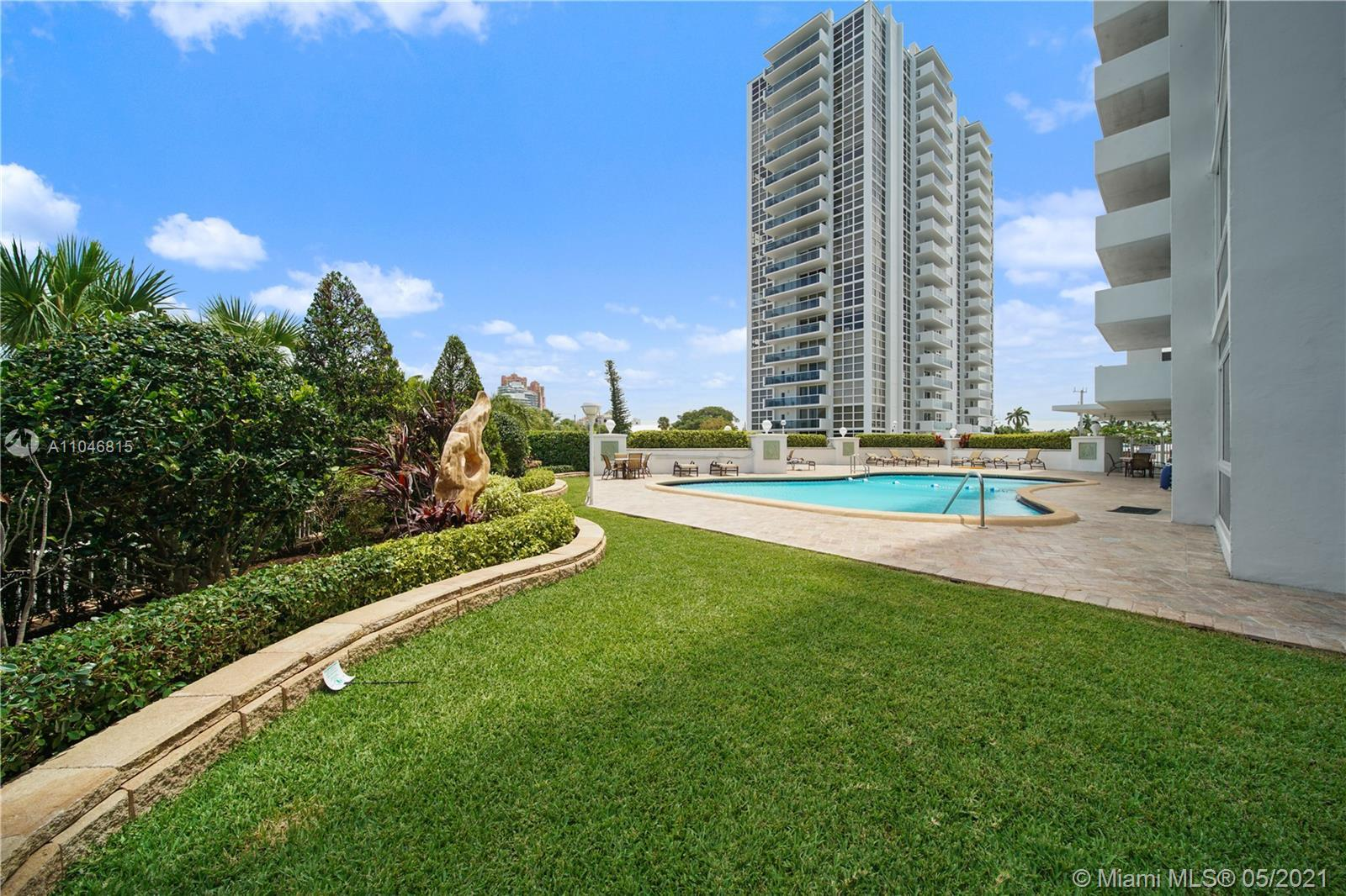 Extraordinary opportunity to live a walk across the street to the beach.  Unit comes with great balc