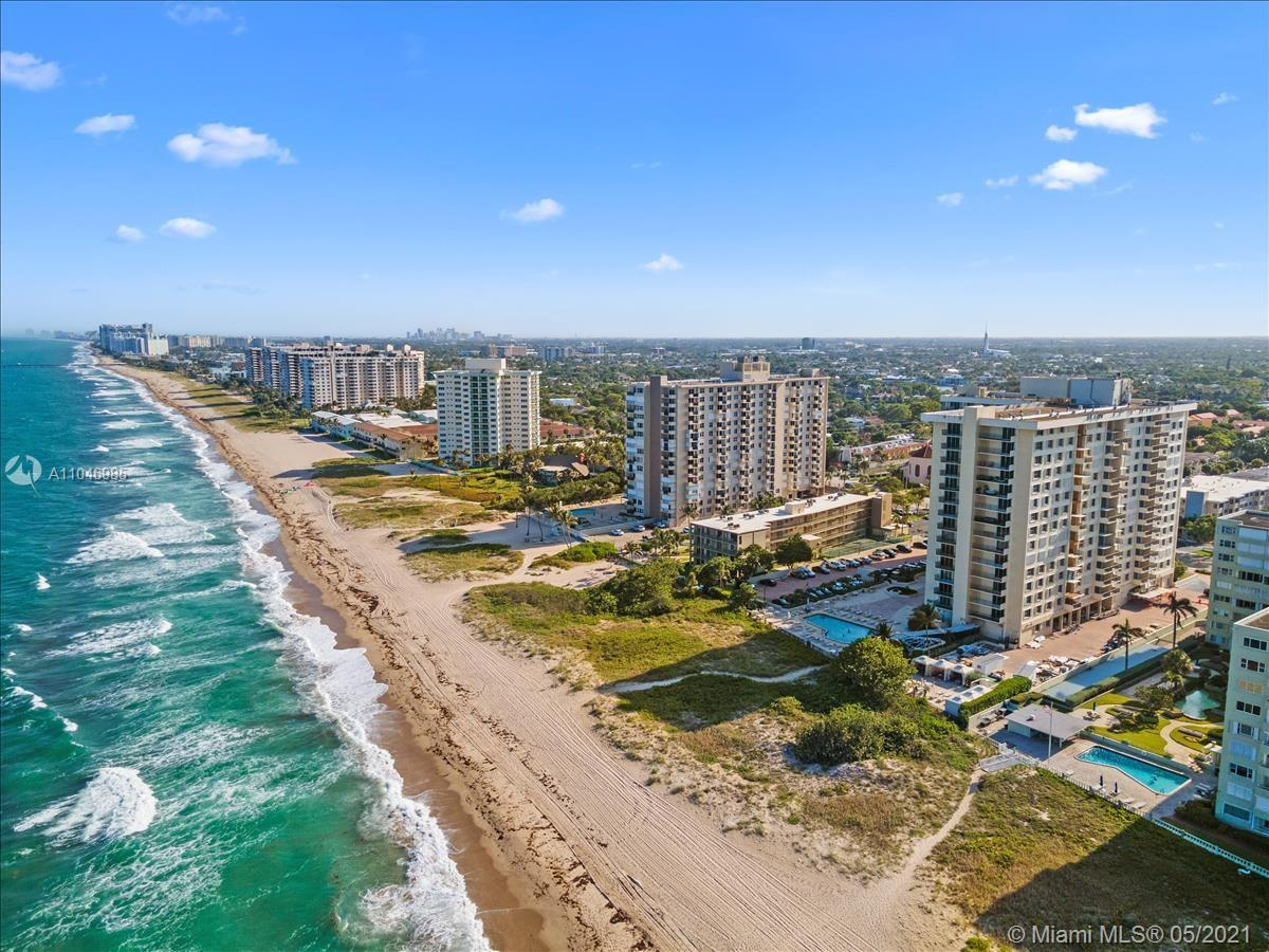 Beautiful 1 bedroom unit in spectacular ocean front condo in Lauderdale by the Sea.  Approx $2M reno