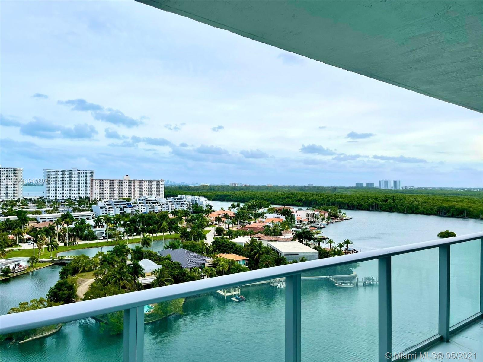 Astonishing corner unit in the new Parque Towers in Sunny Isles! This spacious 3-suite condo is fini