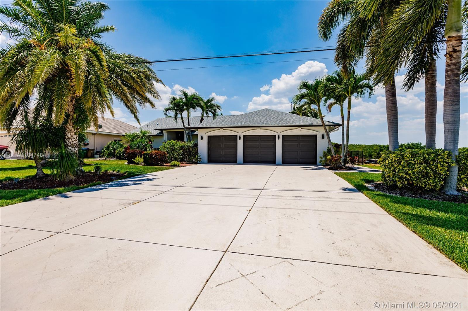 Beautiful water front home on the Spreader Canal in the neighborhood of Surfside. Owner takes pride