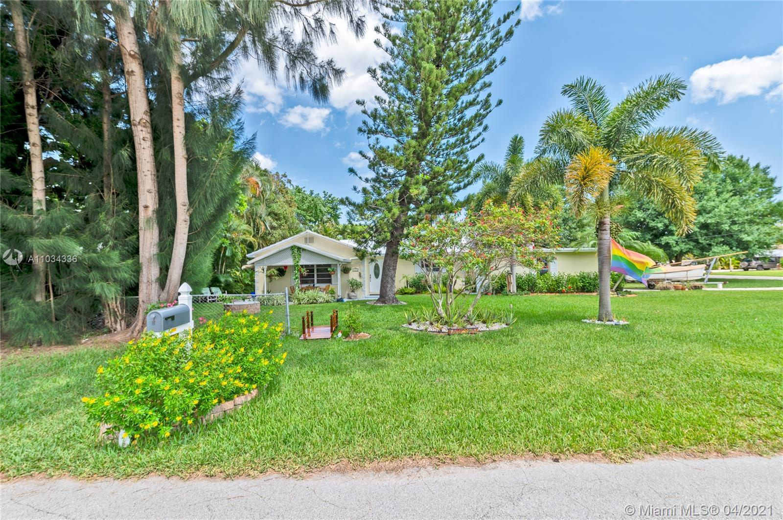 Single family home 2 bed 2 bathrooms . CHULA VISTA within City limits of Fort. Lauderdale in a conne
