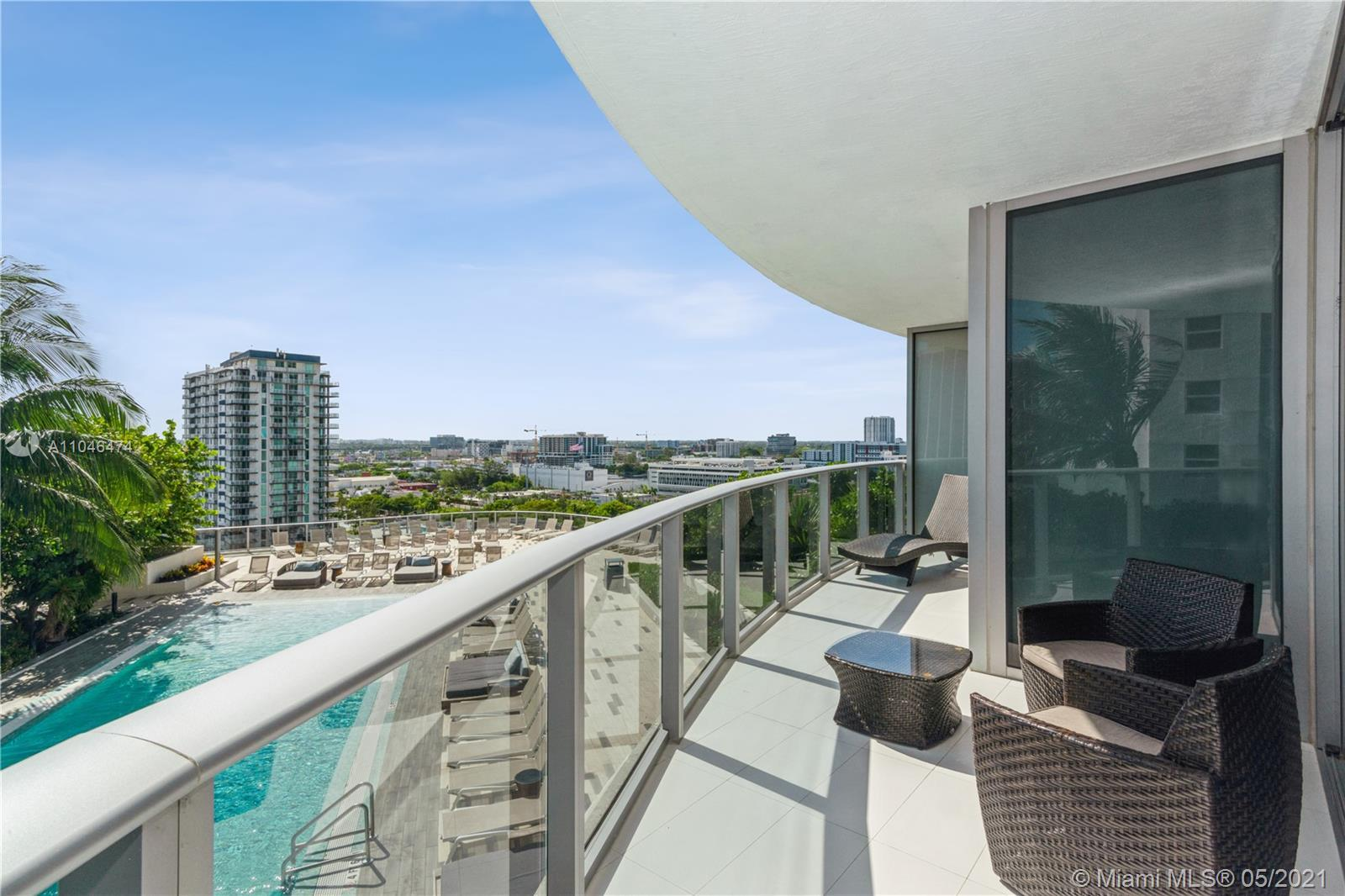 STUNNING 2/2.5 ARIA LUXURY CONDO WITH EXPECTACULAR CITY AND OCEAN VIEWS LOCATED ON THE VERY DESIRABL