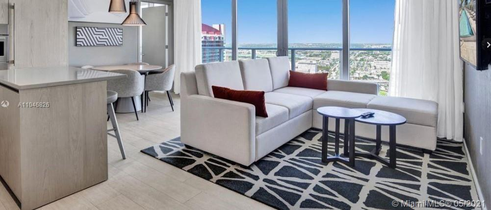 Live or invest in this 3 bed 2 bath unit in a brand new luxury high-rise. Unit comes elegantly fully