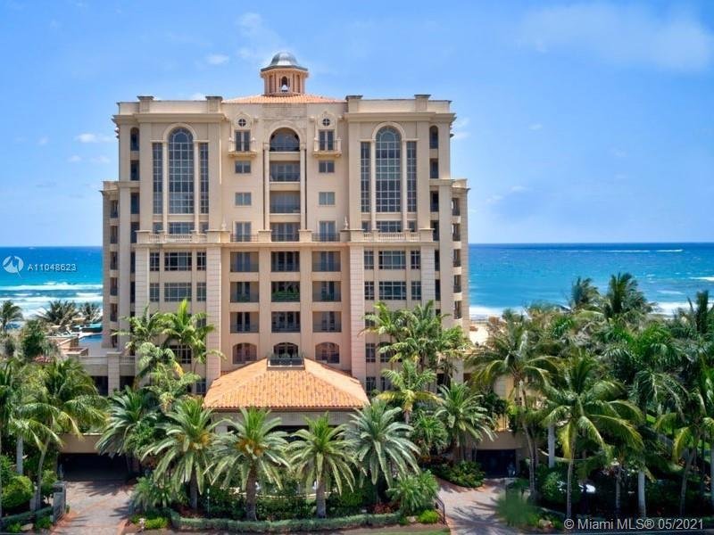 Luxuria is one of Boca Raton's most luxurious and exclusive oceanfront condo residences. This 4BR 4/