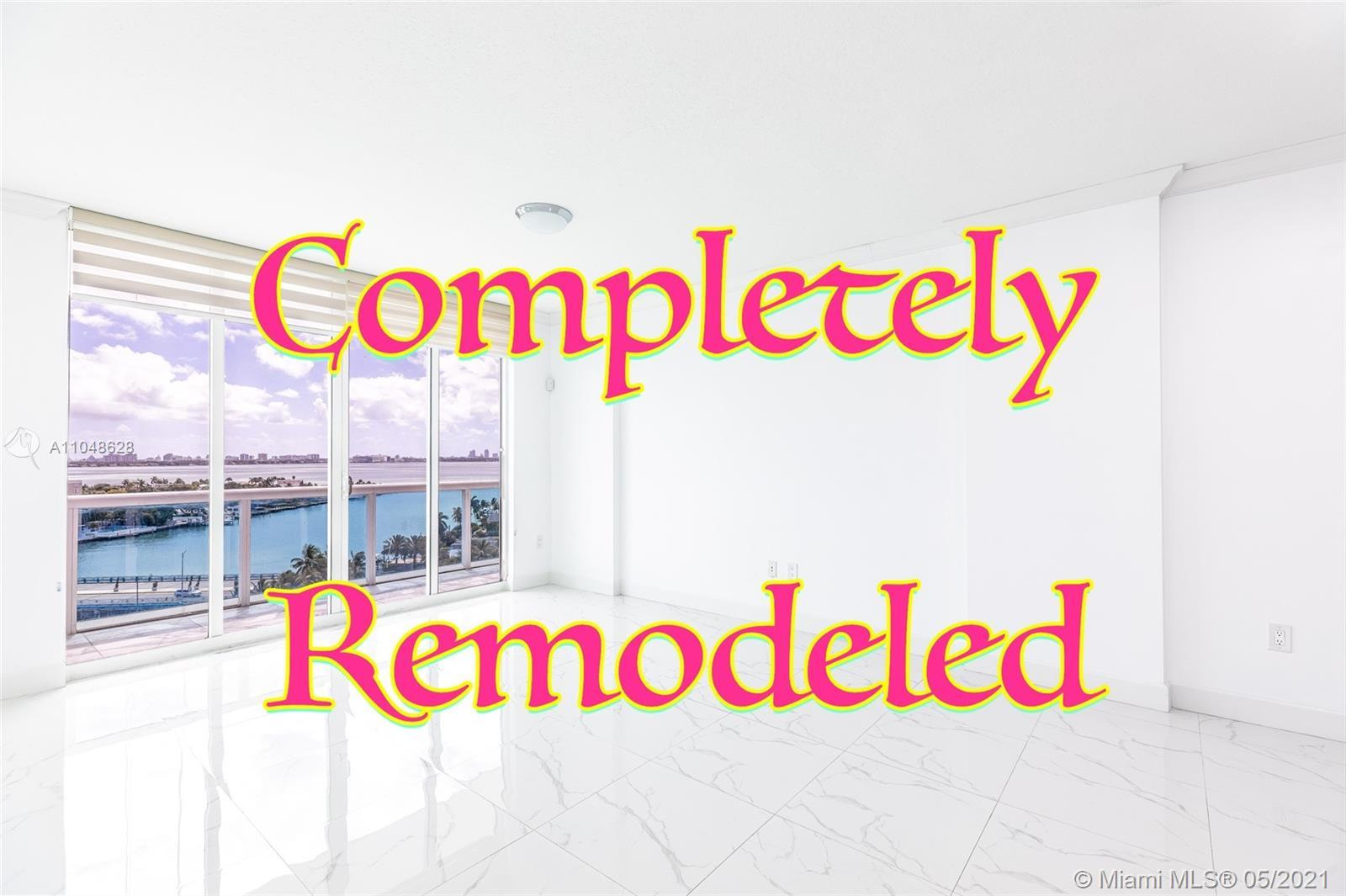 Amazing unit at the 360 condominium!! Fully Remodeled!! Featuring 2 Bedrooms and two baths, beautifu
