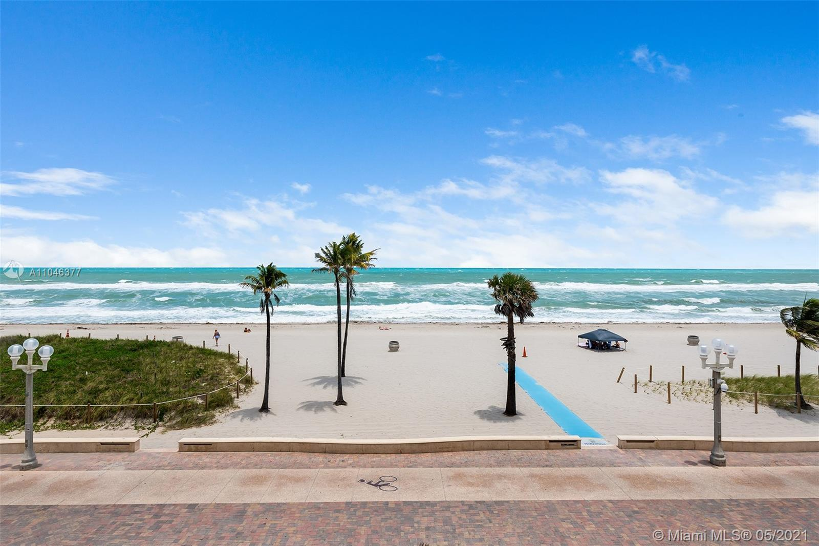 Rare Oceanfront Gem in an exclusive 5-unit building. This unique 2 bed/2 bath property is located in