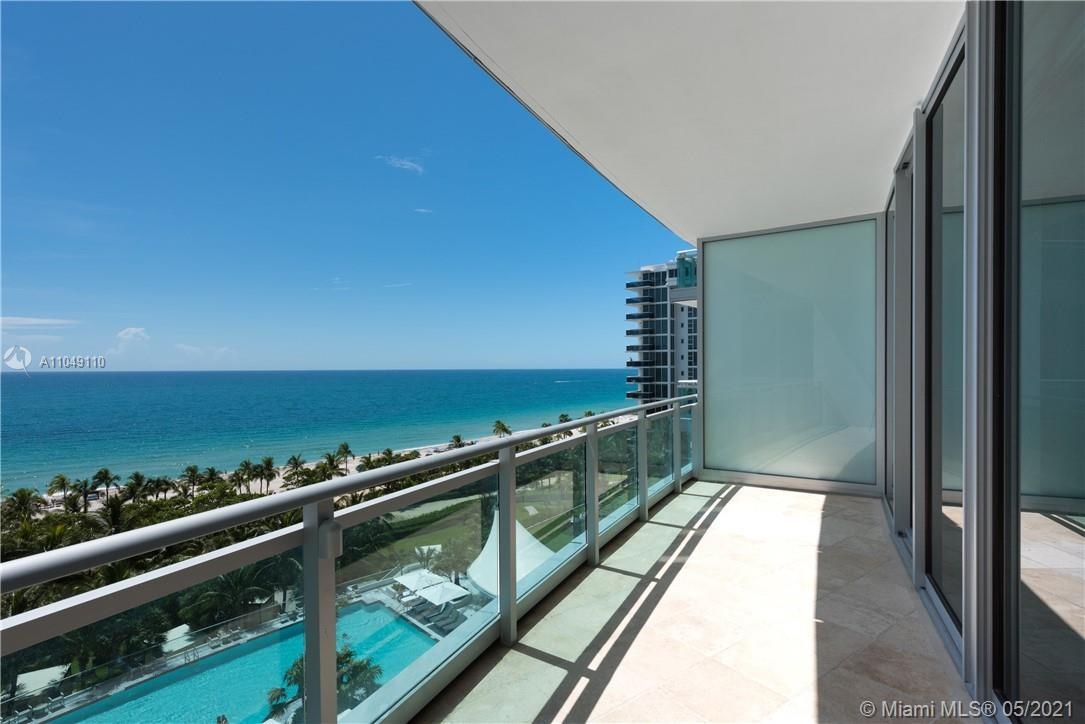 SPECTACULAR 3 bedroom/3.5 bath luxury residence at One Bal Harbour one of the most desirable beachfr
