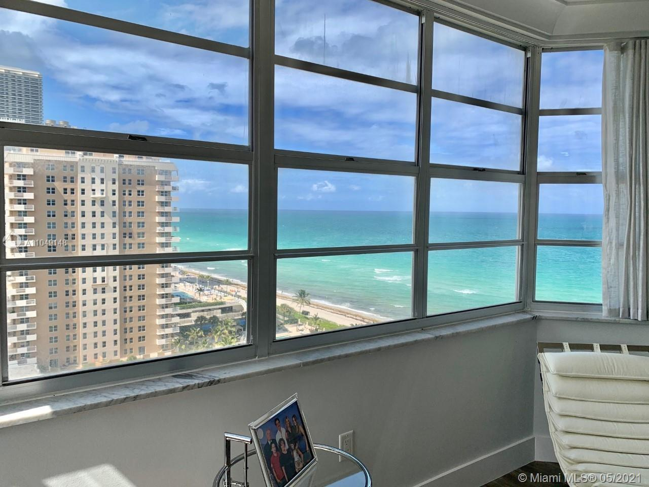 Welcome to paradise on the sand! HIGH FLOOR BEAUTY! Large & stunning 2 bed/2 bath corner unit, remod