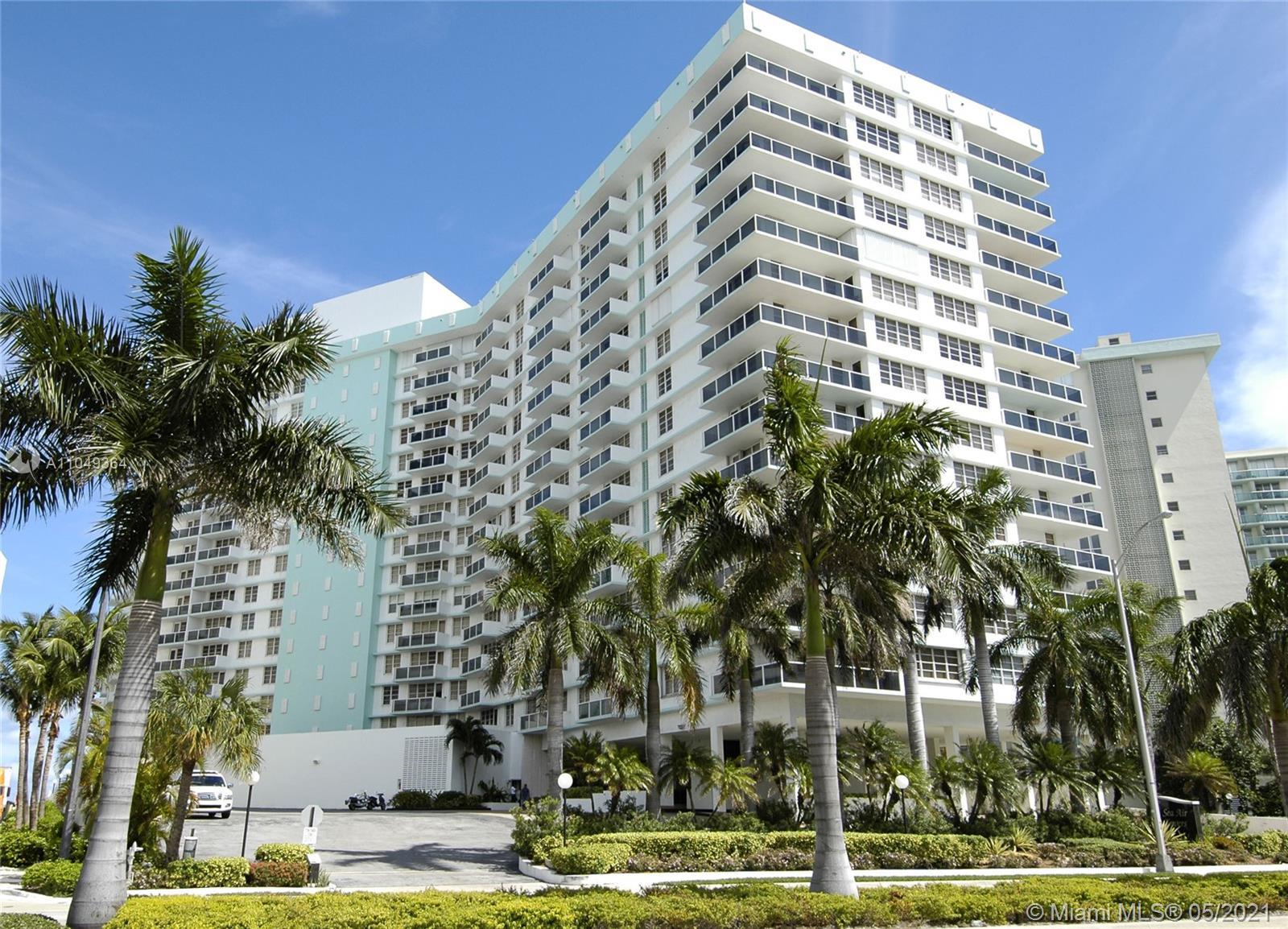 SEA AIR TOWERS - HOLLYWOOD BEACH - OCEANFRONT SPECTACULARLY REMODELED APARTMENT. LOW FLOOR FURNISHED
