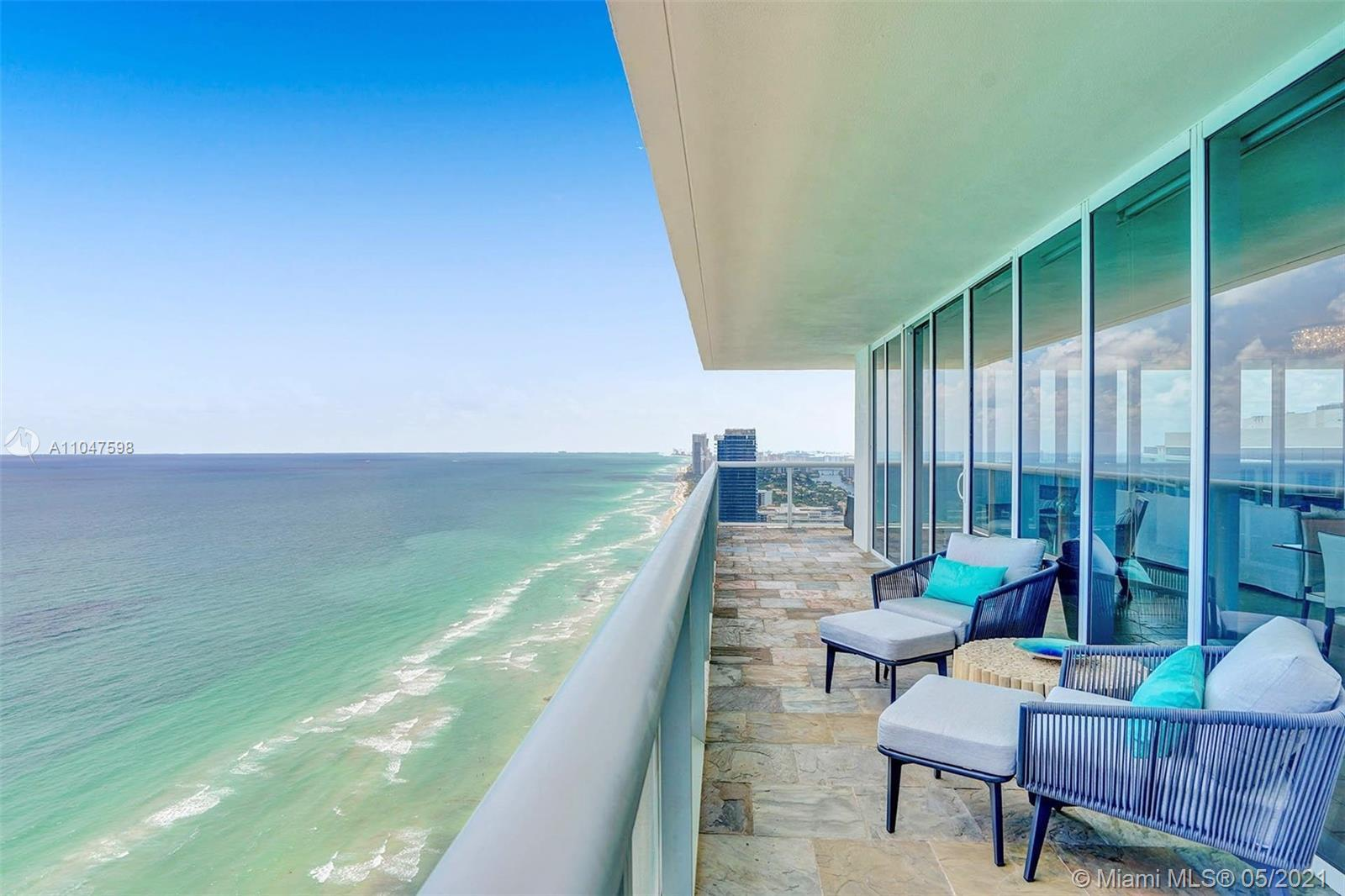 One of a kind and rarely available corner residence with an absolutely breathtakingocean and city s