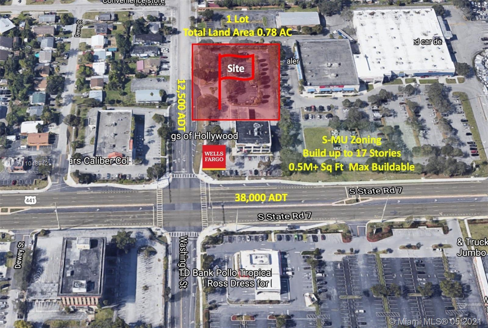 Great development opportunity. Build Mixed Use building with up to 39 residential units and offices