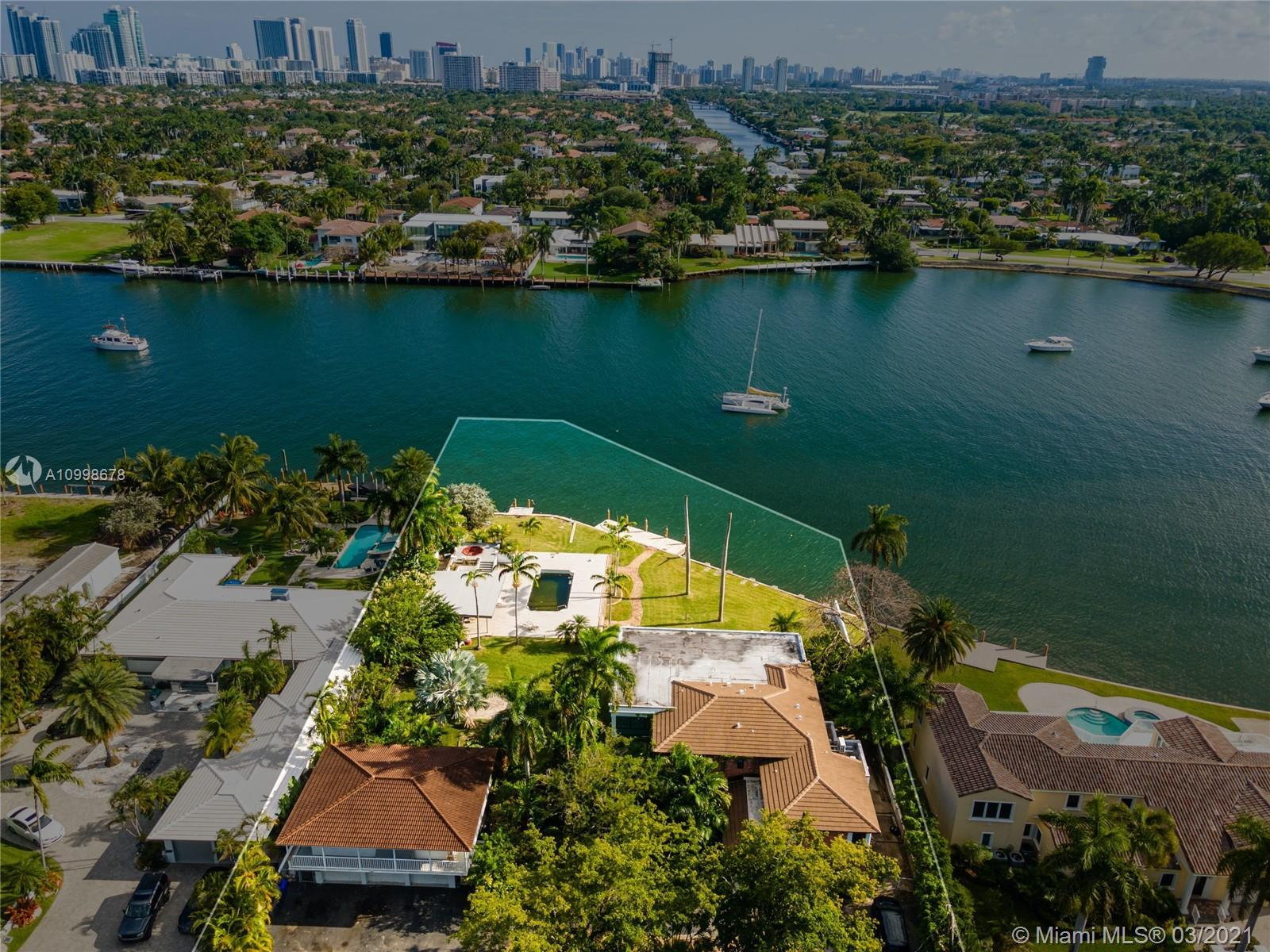 Prime waterfront land for sale to develop or custom build your dream house. Lot is over 30,000 sq ft