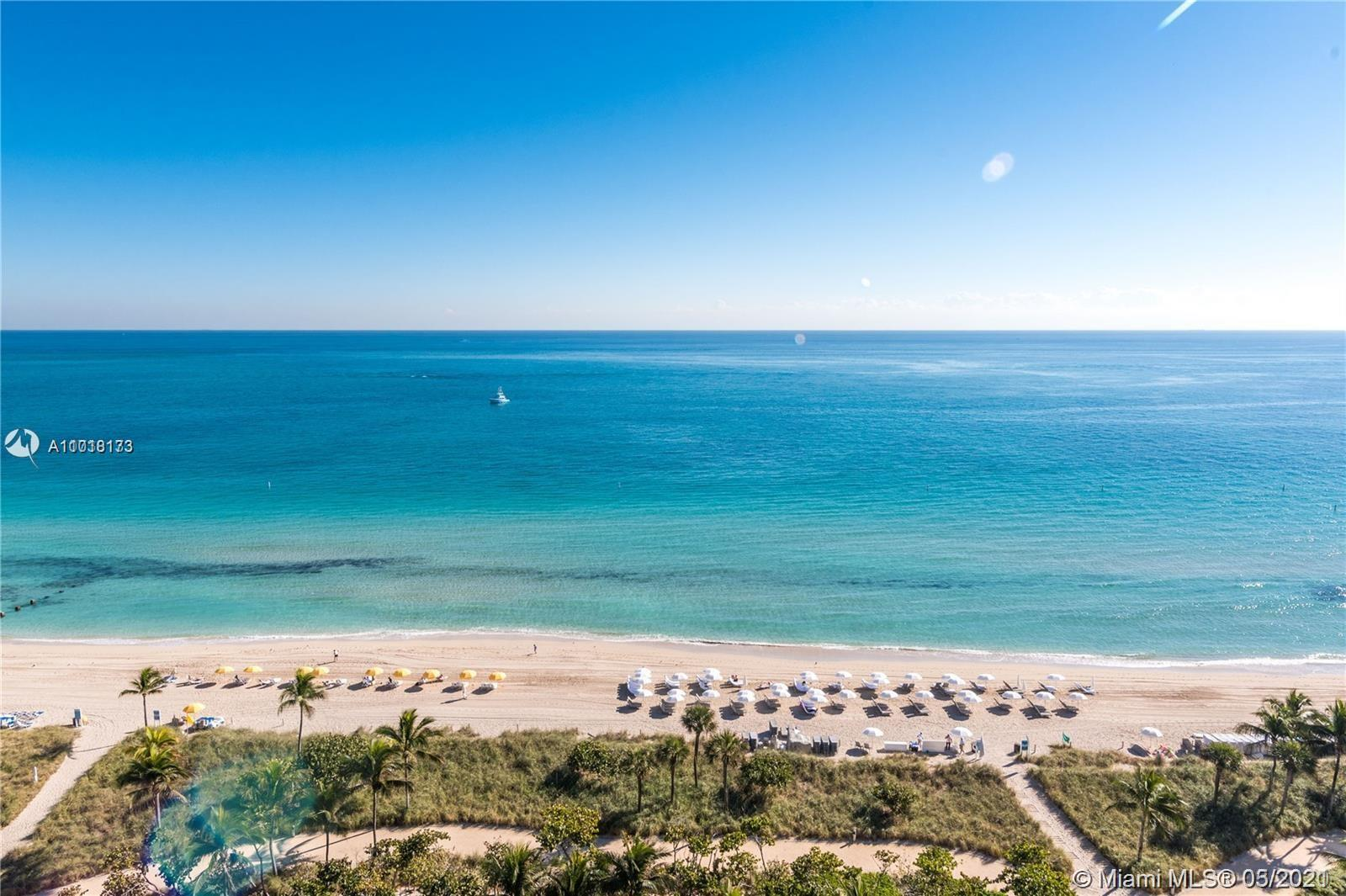 Enjoy living in the prestigious Balmoral condominium located in the heart of Bal Harbour and across