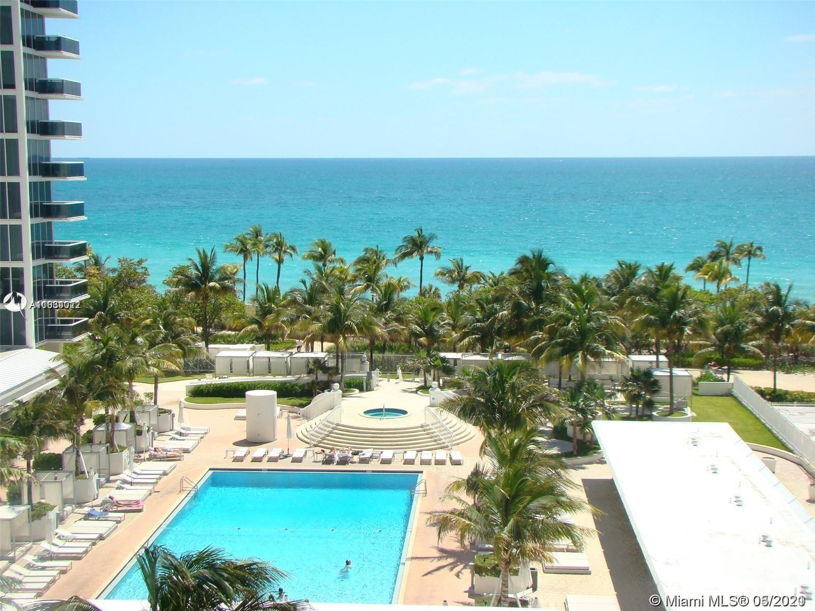 Beautiful 2 bedroom 2 bathroom, direct ocean view in the heart of bal harbour. Unit is being remode