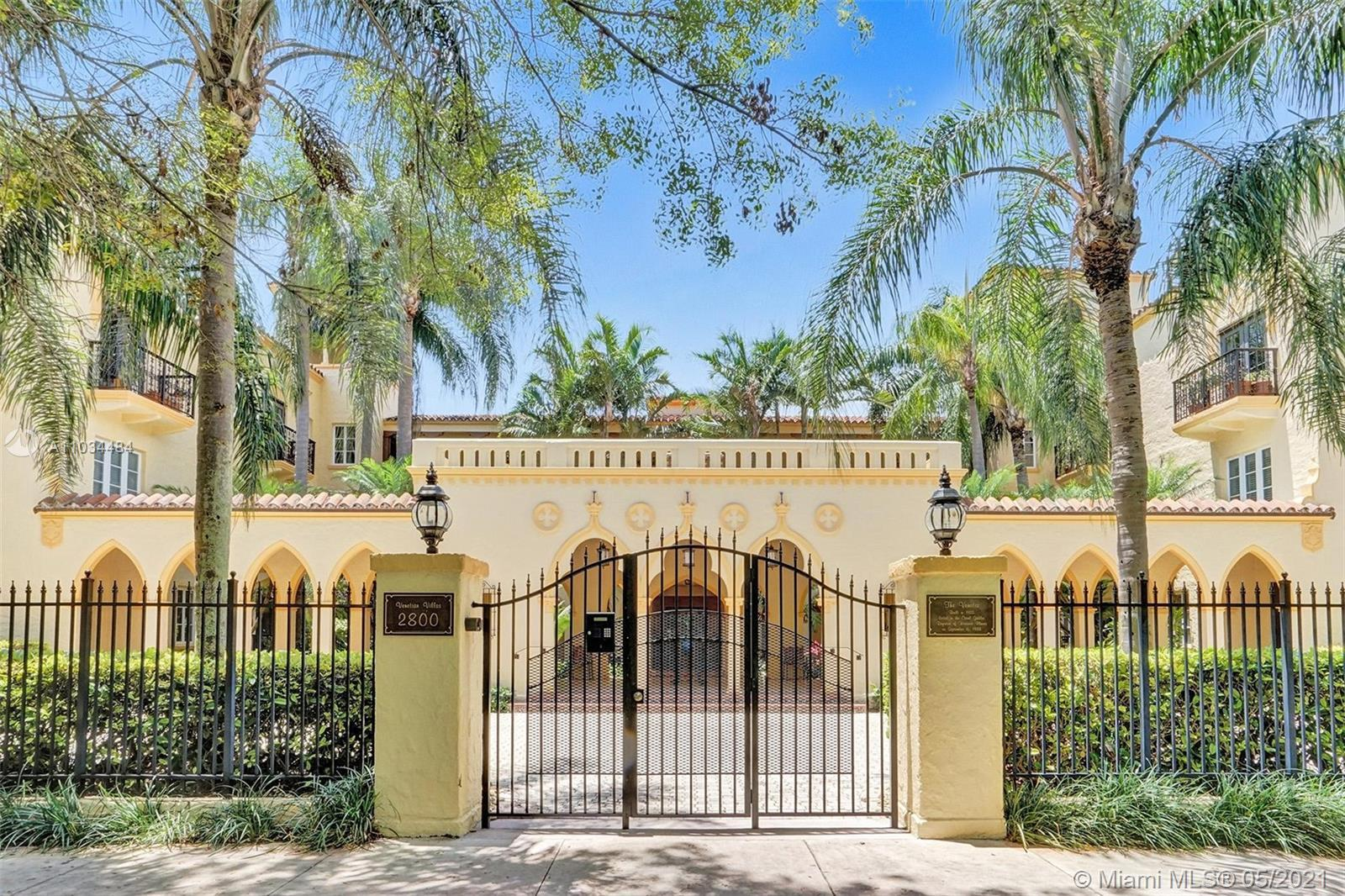 Amazing chance to own a rare gem in Coral Gables. Located on the ground level of a three-story histo