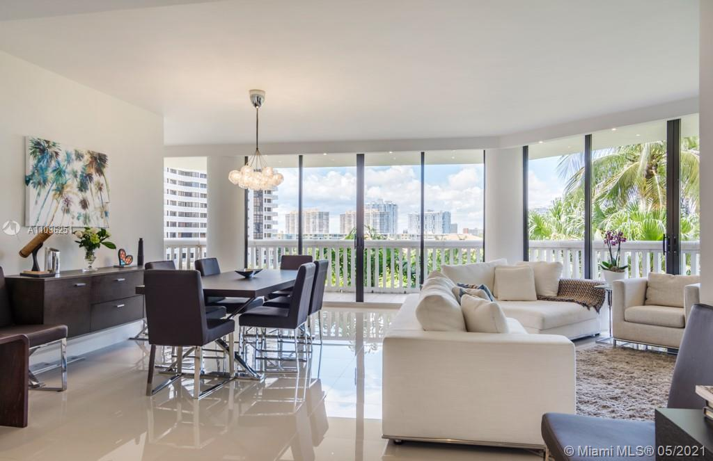 Beautifully remodeled & designed apartment with almost 2100 sq ft plus wrap around balconies. Attent