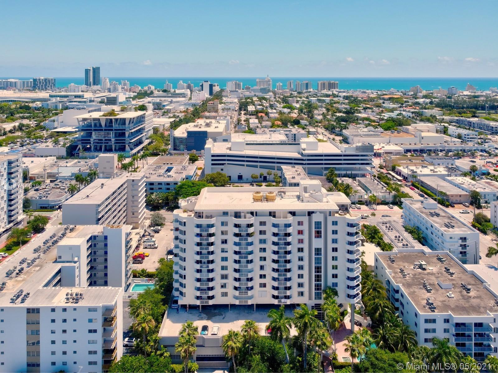 Location is Everything! South Beach Pied-A-Terre fit for a King! Where Lincoln road meets the Bay! R
