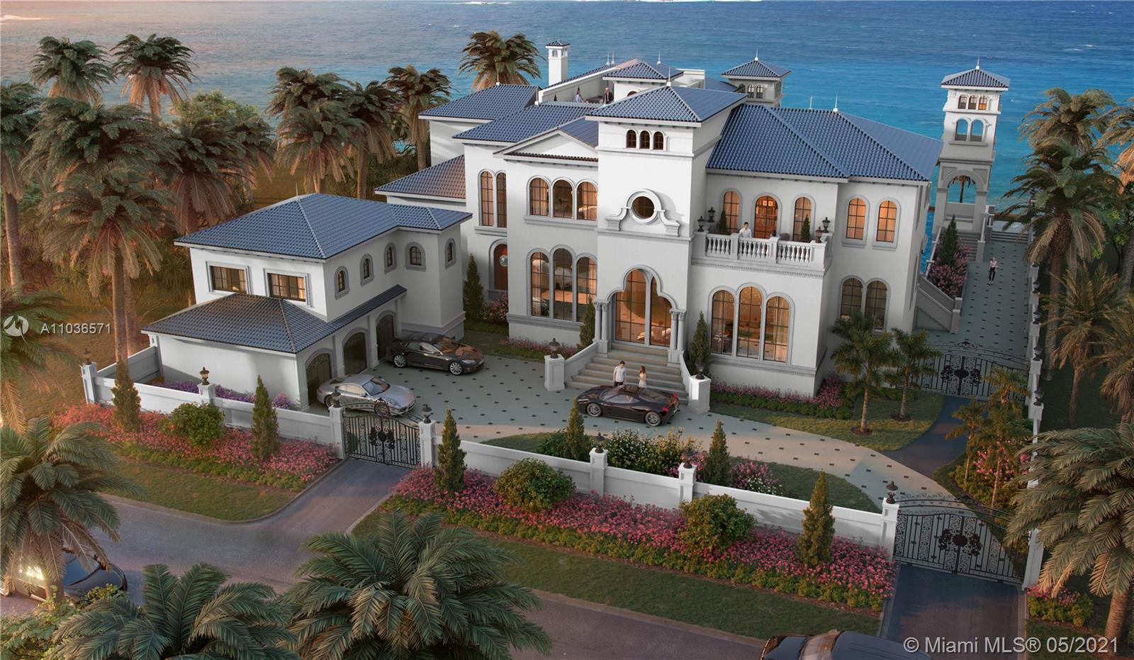 Designed by award-winning designer and builder Andrea D'Alessio. This 11,000± sq. ft. mansion with 1