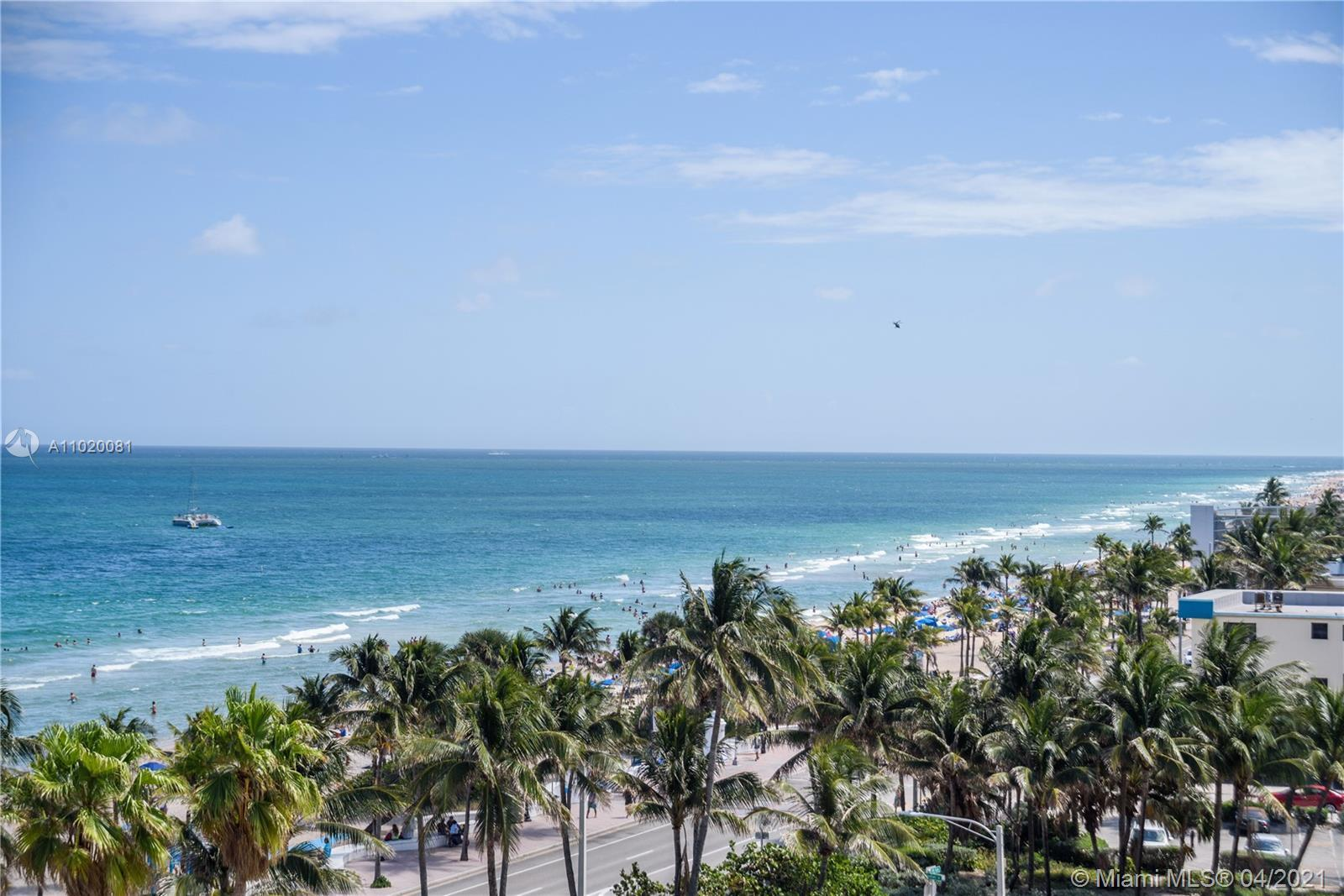 This is your opportunity to own a piece of Fort Lauderdale Beach!  This bright SW corner 2-bedroom /
