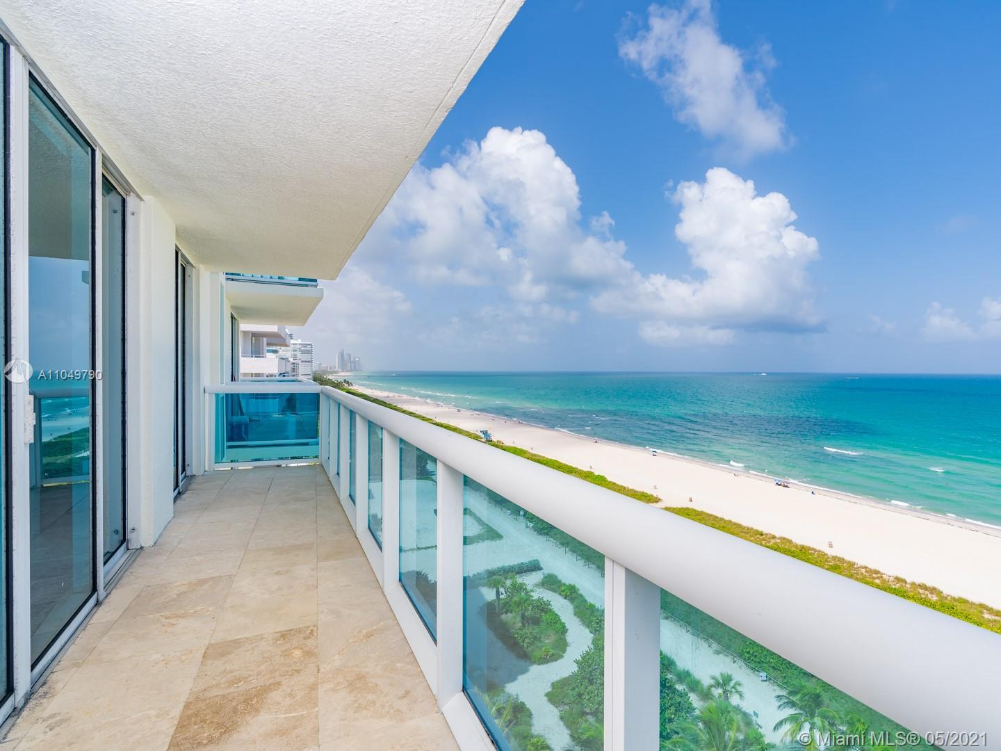 Spectacular DIRECT OCEANFRONT views from the most desirable unit in the building. Newer construction