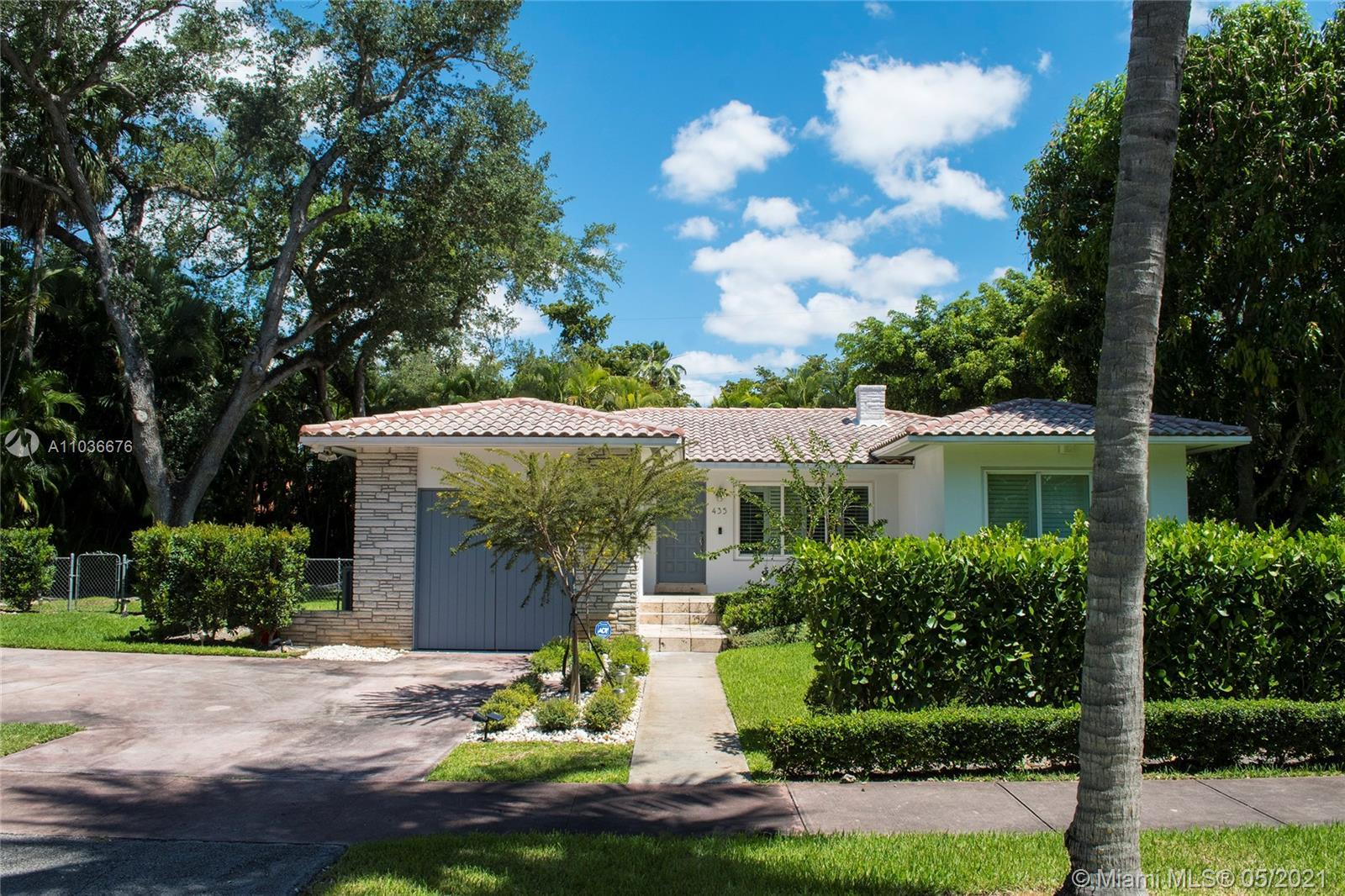BRAND NEW 2020 ROOF! This fabulous South Gables home completely renovated with high-end custom detai