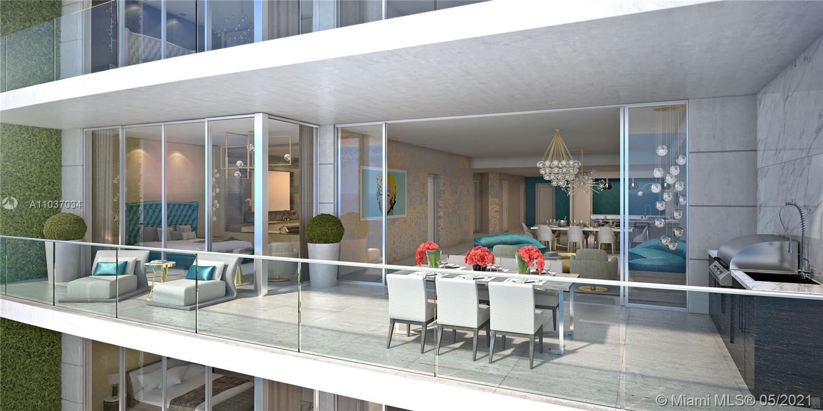 4 BEDROOM 5 BATH   3287 SQFT  FURNISHED BY FENDI AND LUXURY LIVING , BE APART OF THE WORLDS FINEST R