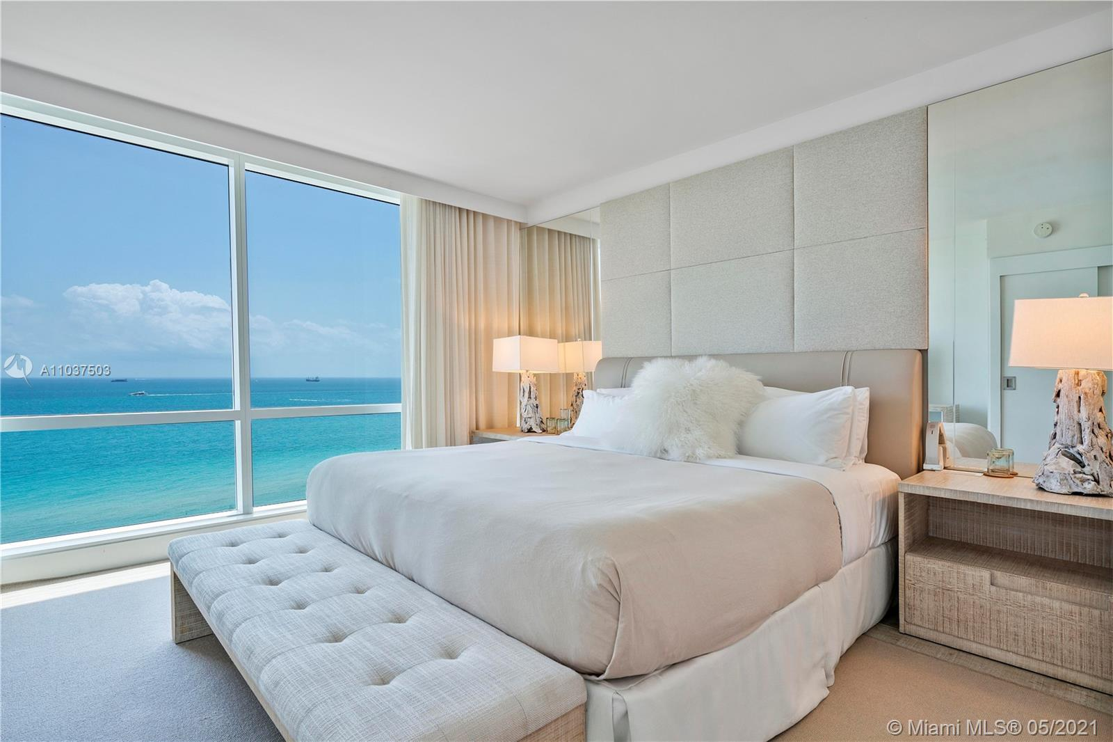 Amazing direct ocean 3 bedroom with breathtaking views of the ocean. The perfect Miami Beach spot to