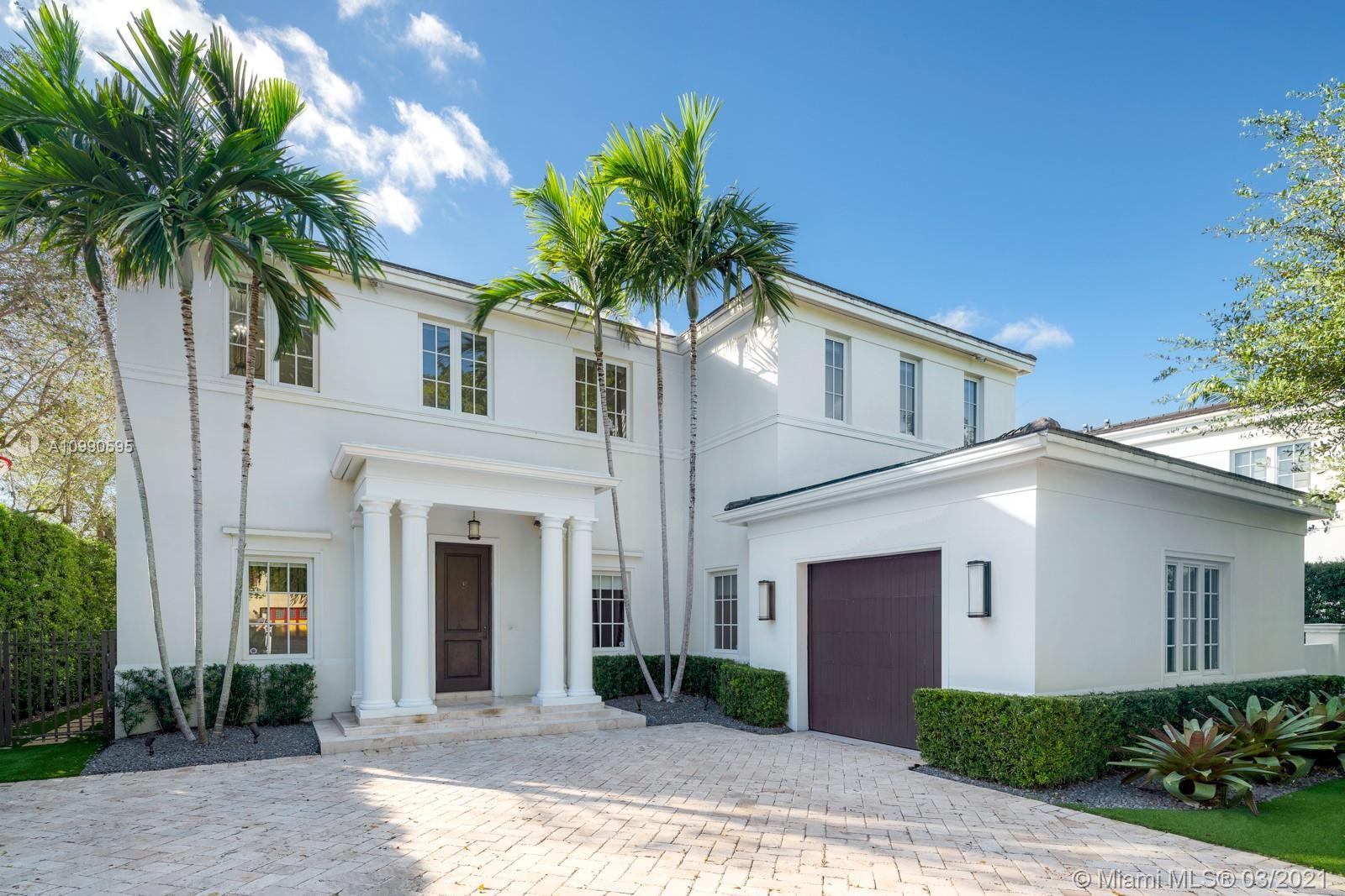 Gorgeous waterfront home located on the prestigious Coral Gables Waterway. It is a stunning contempo