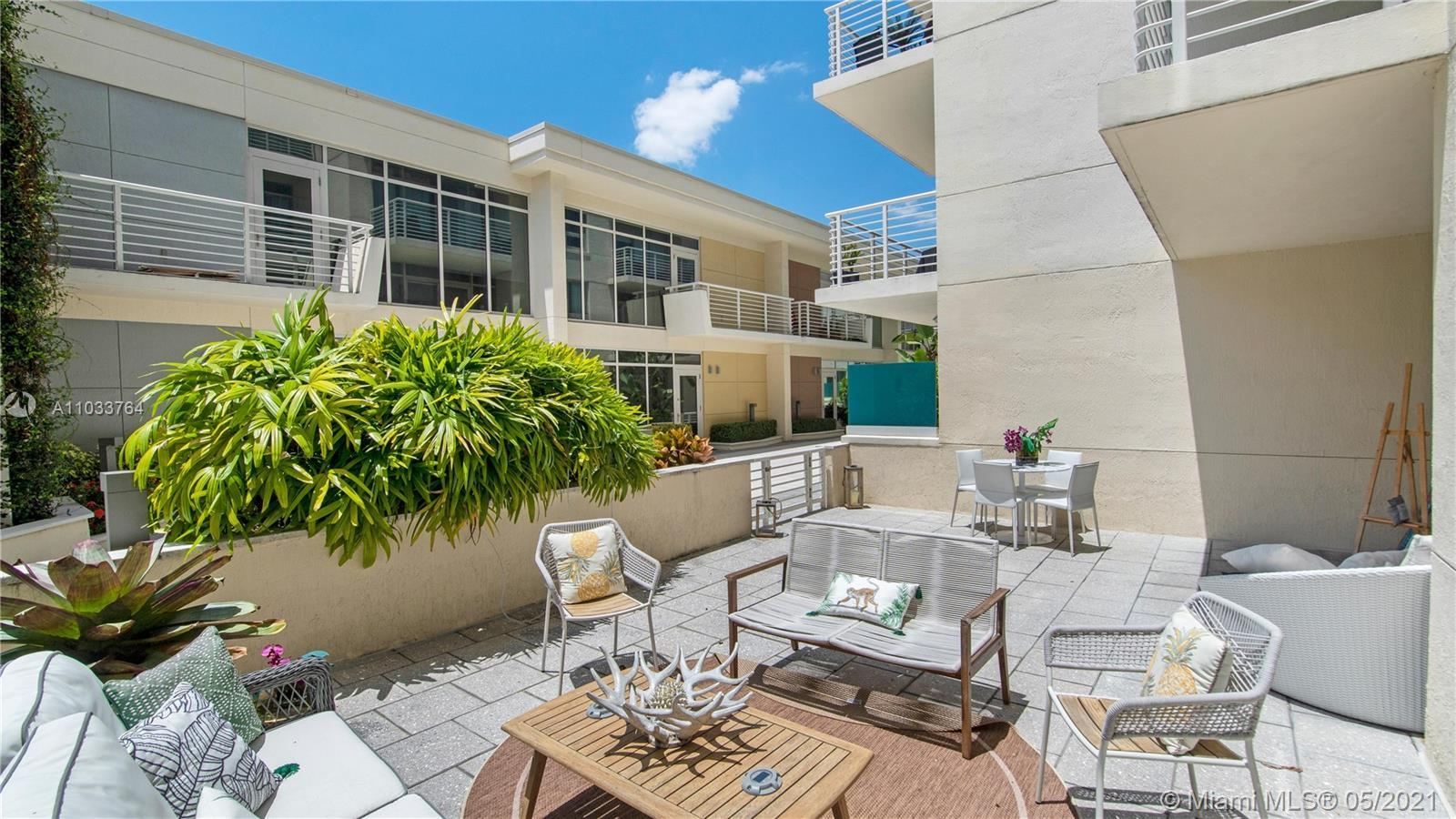 Welcome Home! Rare opportunity to own this 1Bedroom/1Bathroom apartment with a terrace over 300sqft.