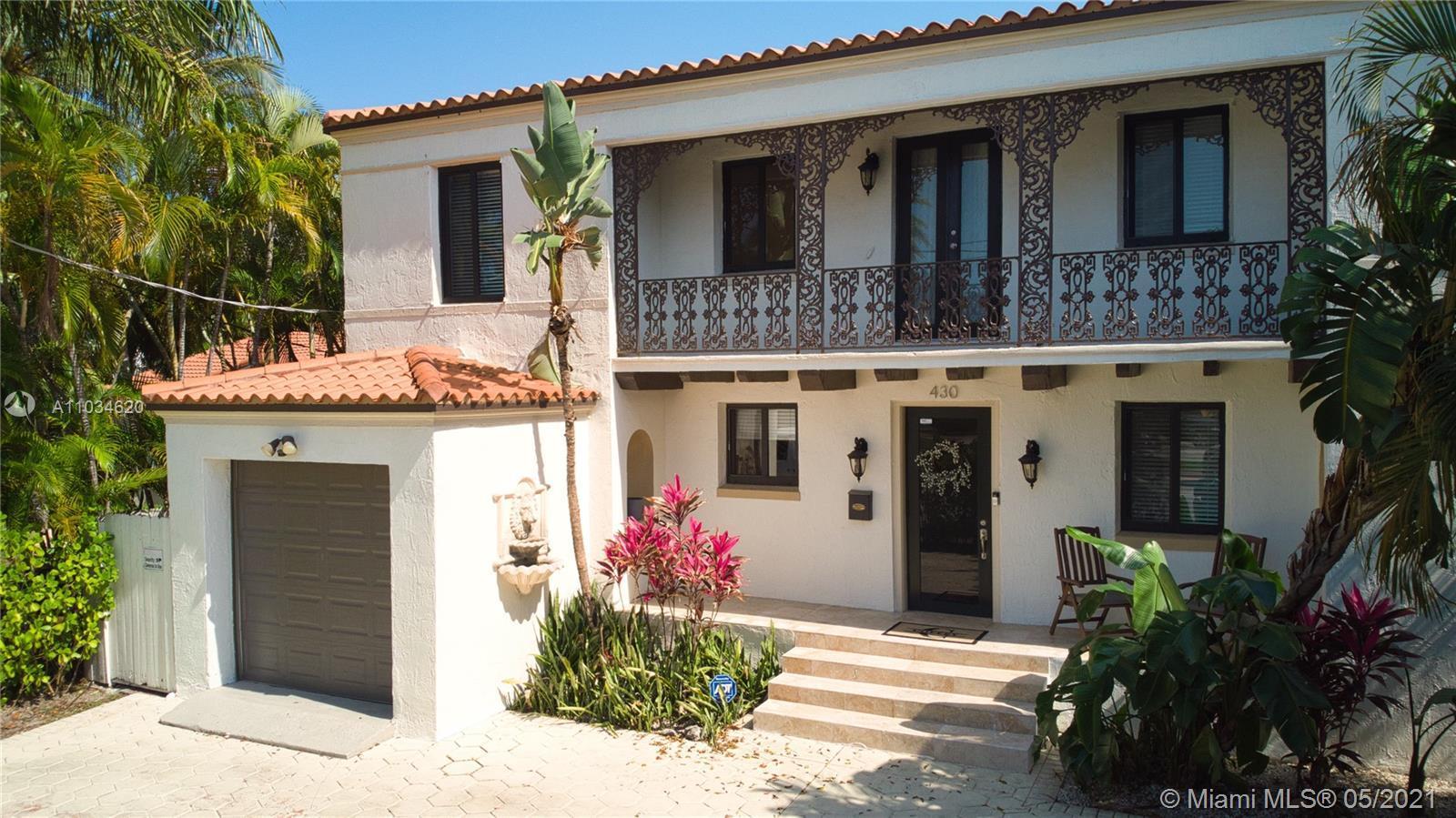 Rare, Beautiful, Mediterranean/Spanish Mini Mansion, same architect as Versace Mansion in SOBE. Move