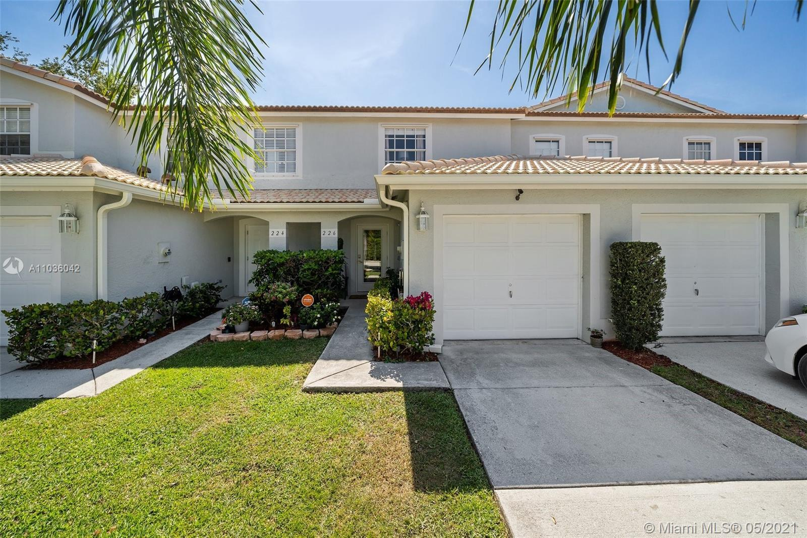 Beautifully updated townhome in gated community, centrally located, near everything. Tons of natural