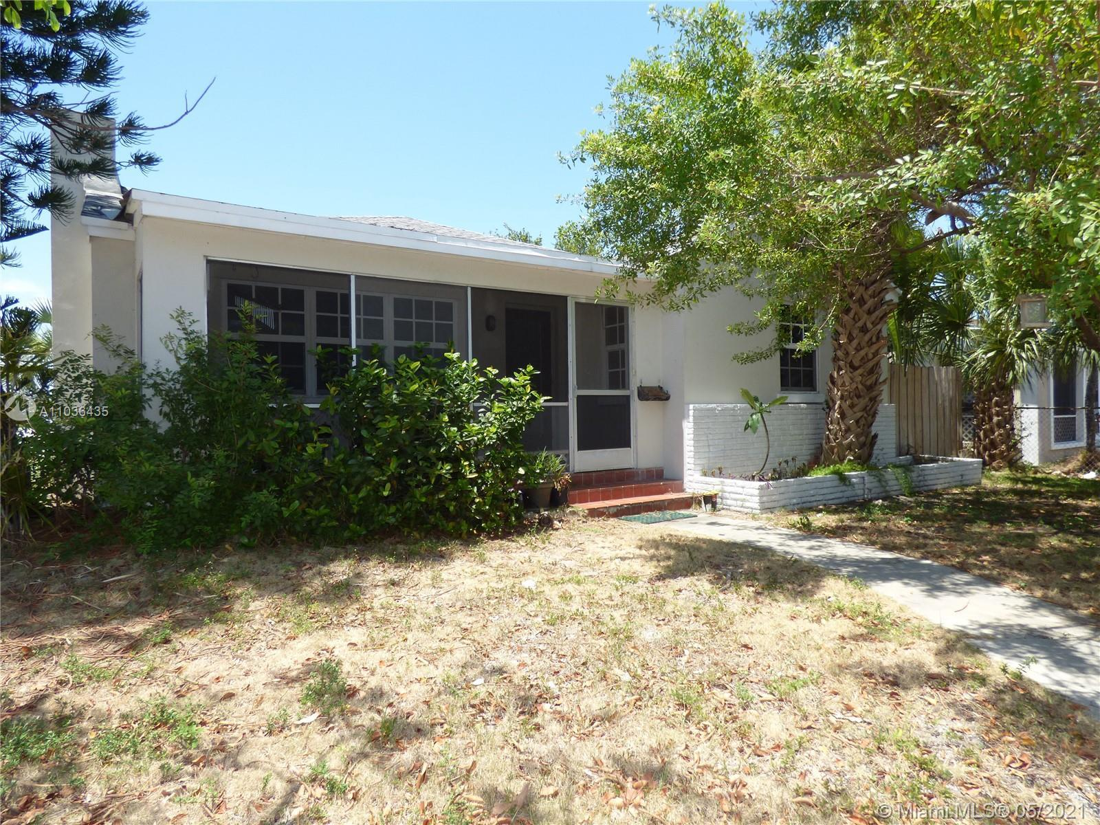 This property is situated on a corner lot and consists of 3 Full Bedrooms and 2 Full Baths along wit