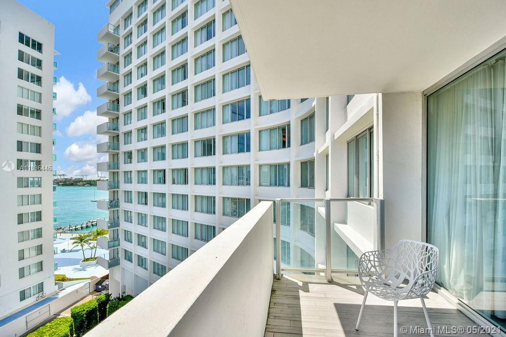 Rare Mondrian South Beach Hotel, 01 line, one bedroom, one bath, balcony. Enjoy breathtaking views o