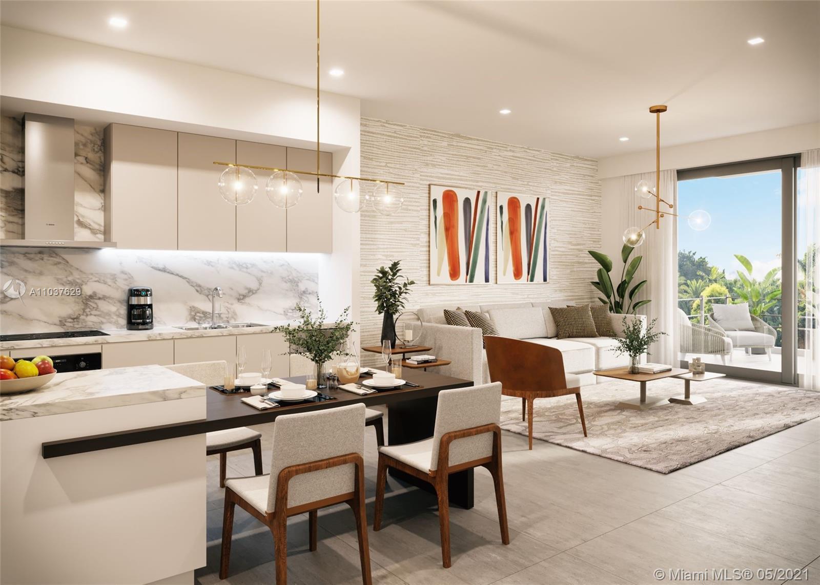 Spacious 1br/1.5 bath brand new condo in the heart of South Beach. 10ft ceilings, ceramic tile floor