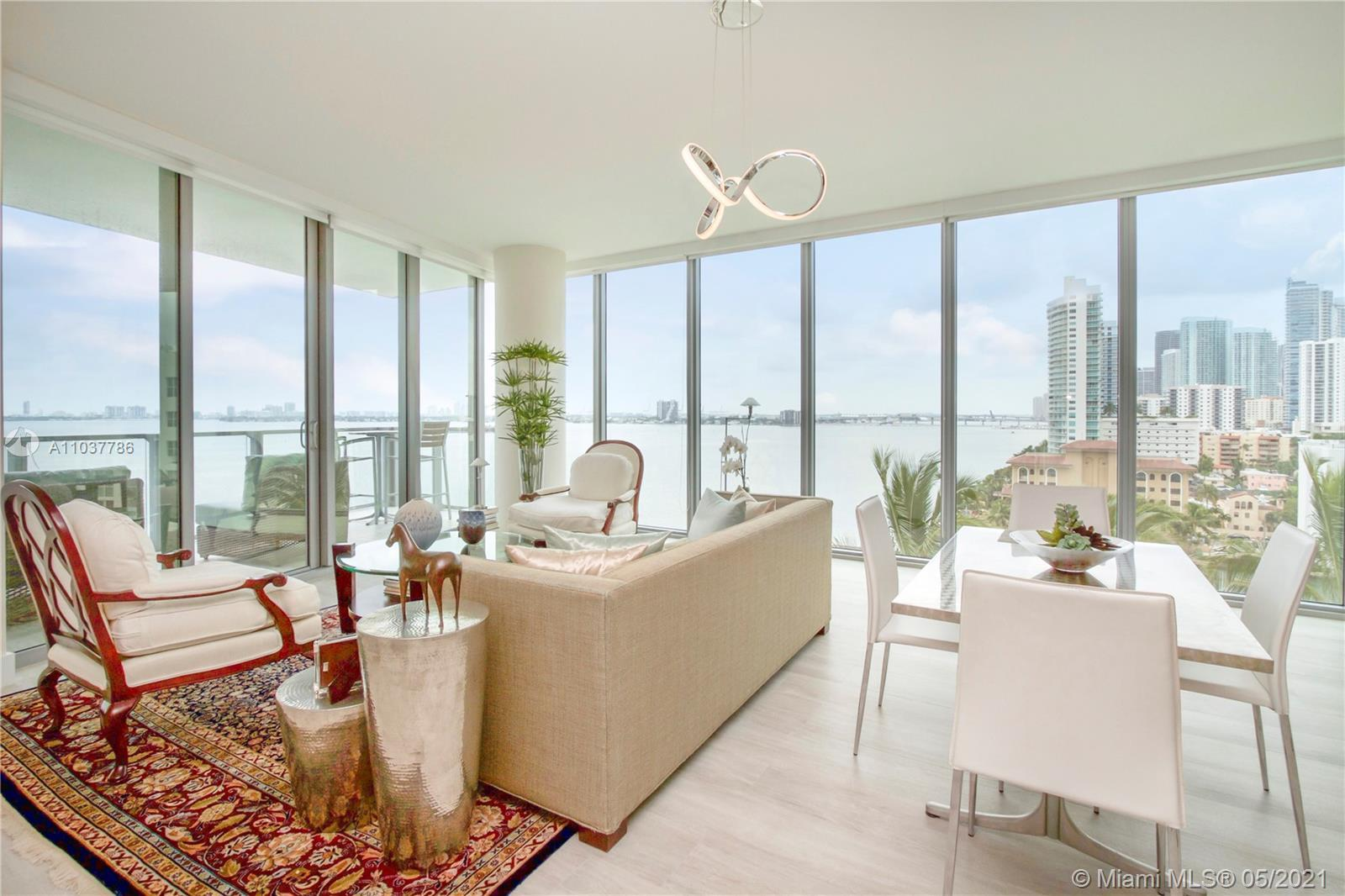 **CORNER UNIT** The Beach meets the City in this new breathtaking luxury condominium. 3 bedrooms + D